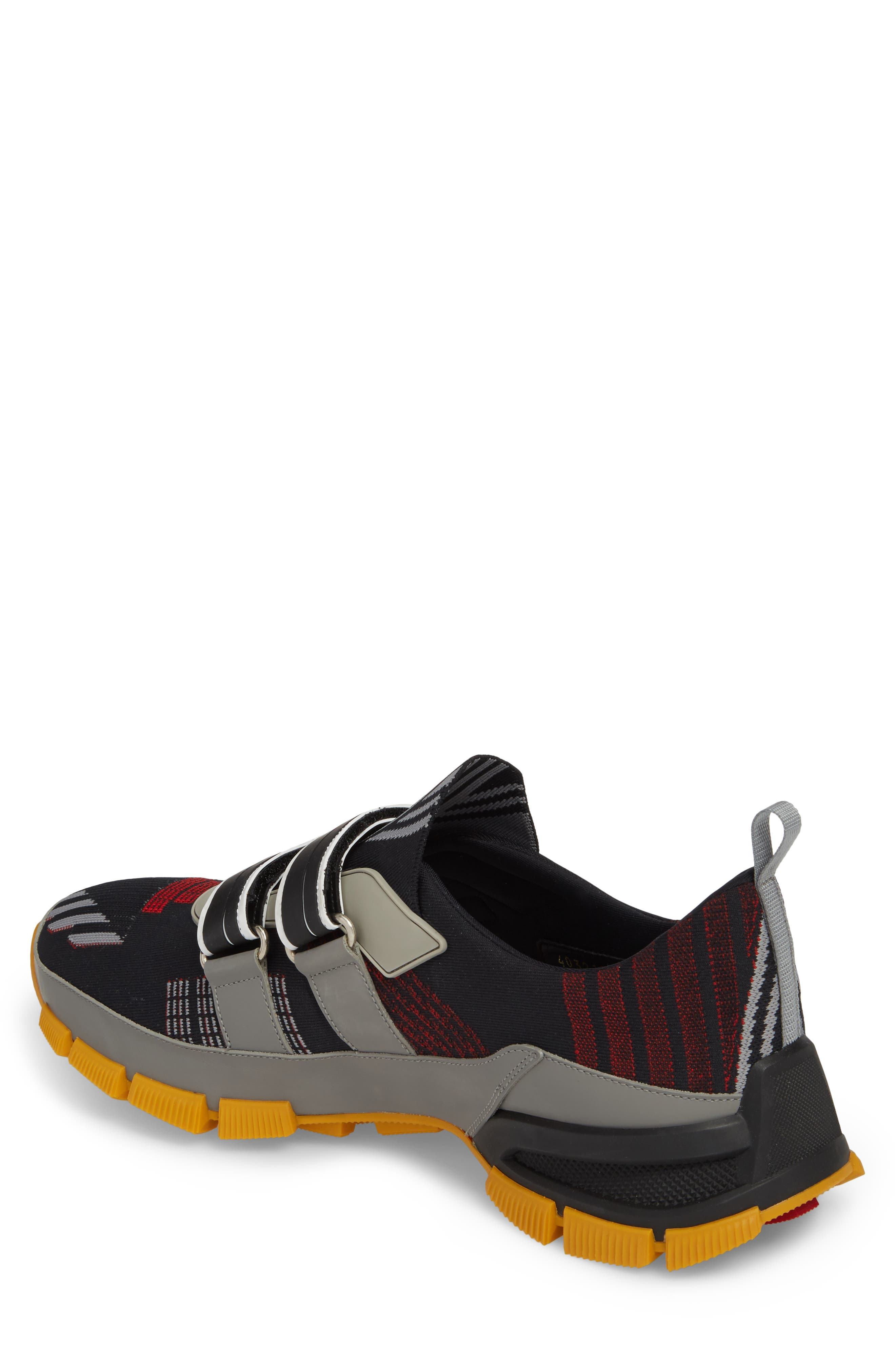 Linea Rossa Strap Sneaker,                             Alternate thumbnail 2, color,                             001