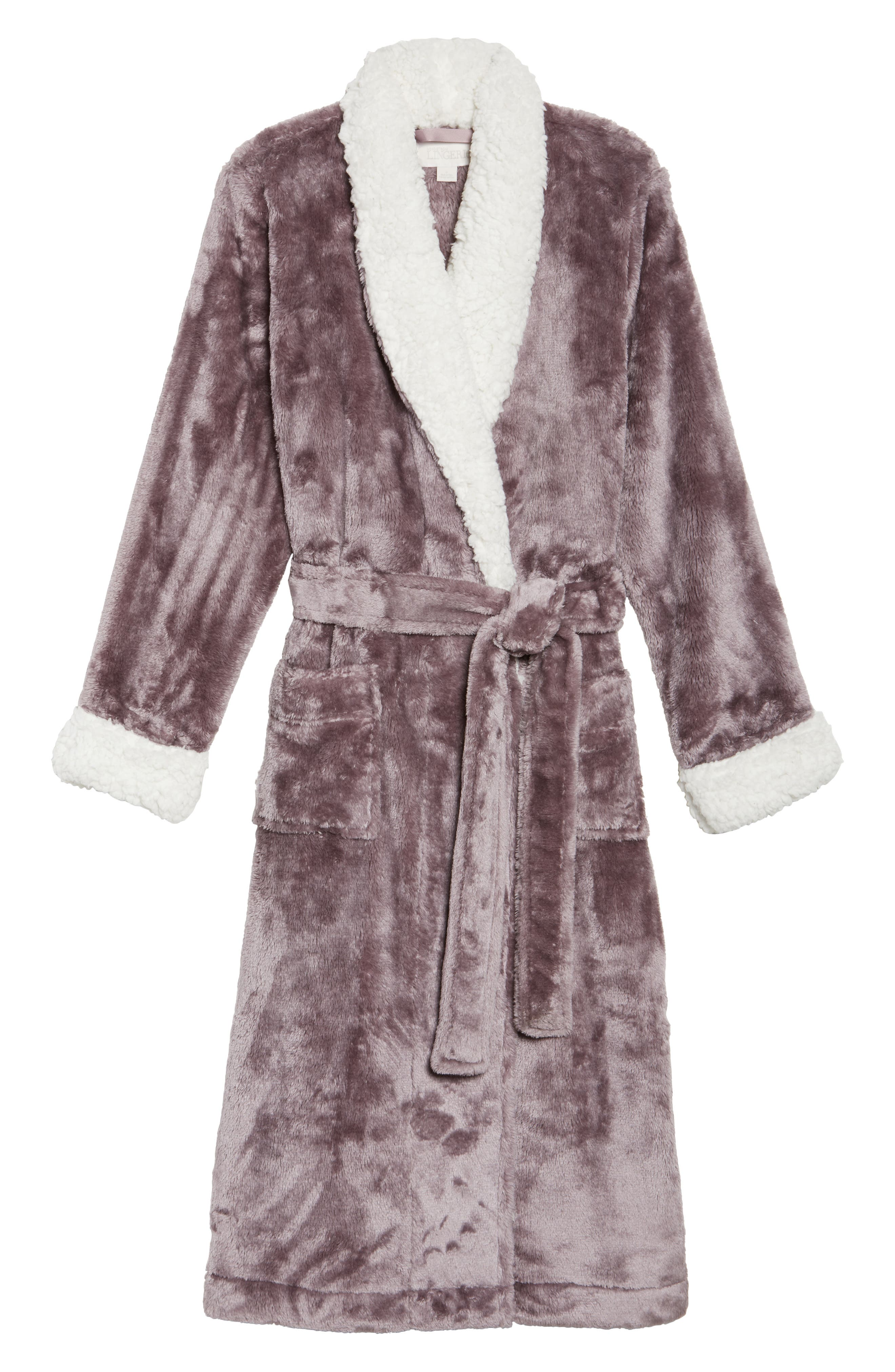 Frosted Plush Robe,                             Alternate thumbnail 24, color,