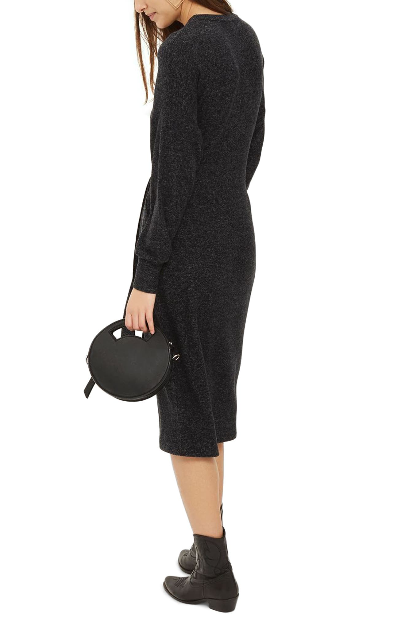 Cut and Sew Sweater Dress,                             Alternate thumbnail 2, color,                             020