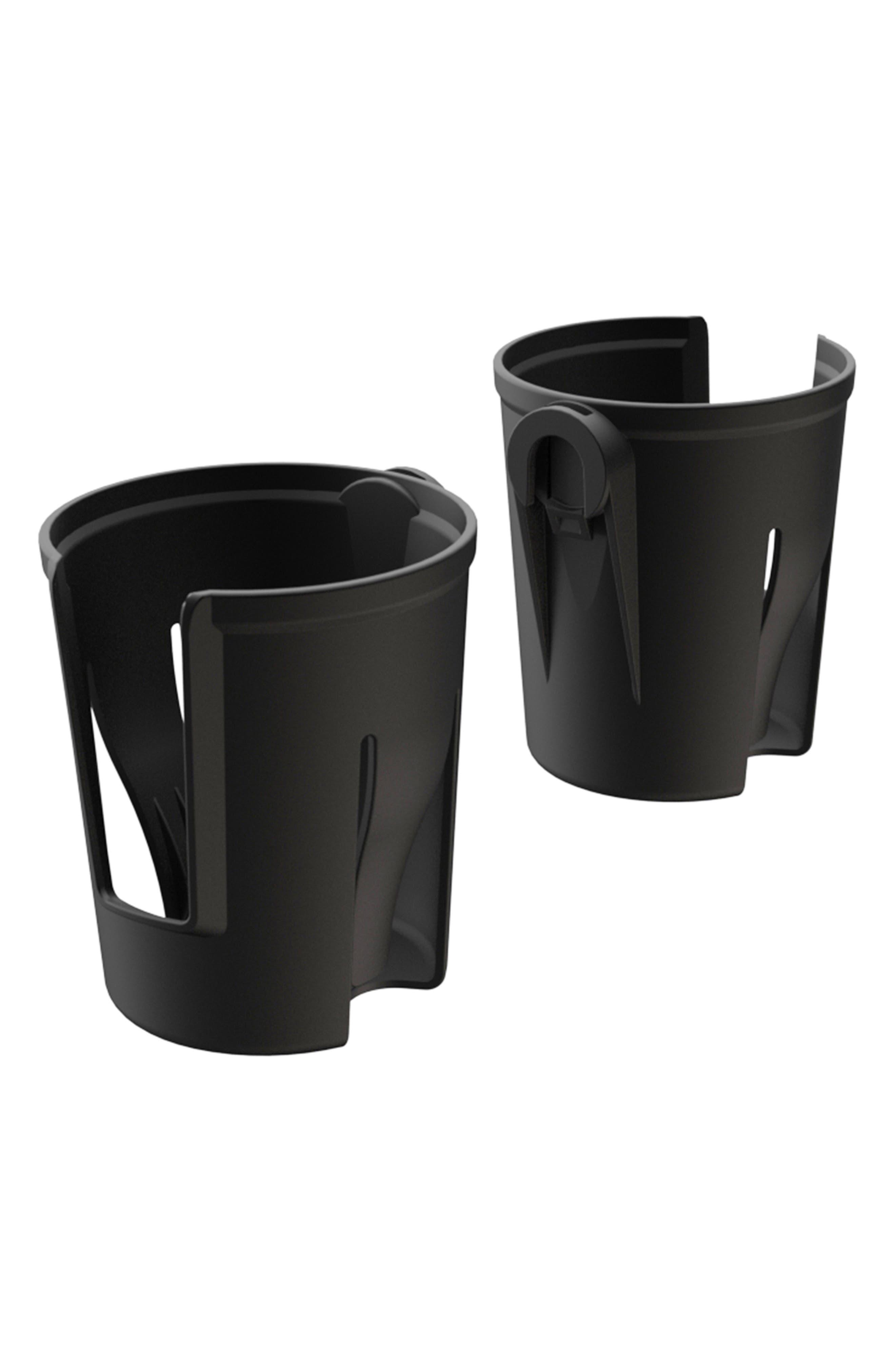 Set of 2 Cupholders,                             Main thumbnail 1, color,                             BLACK