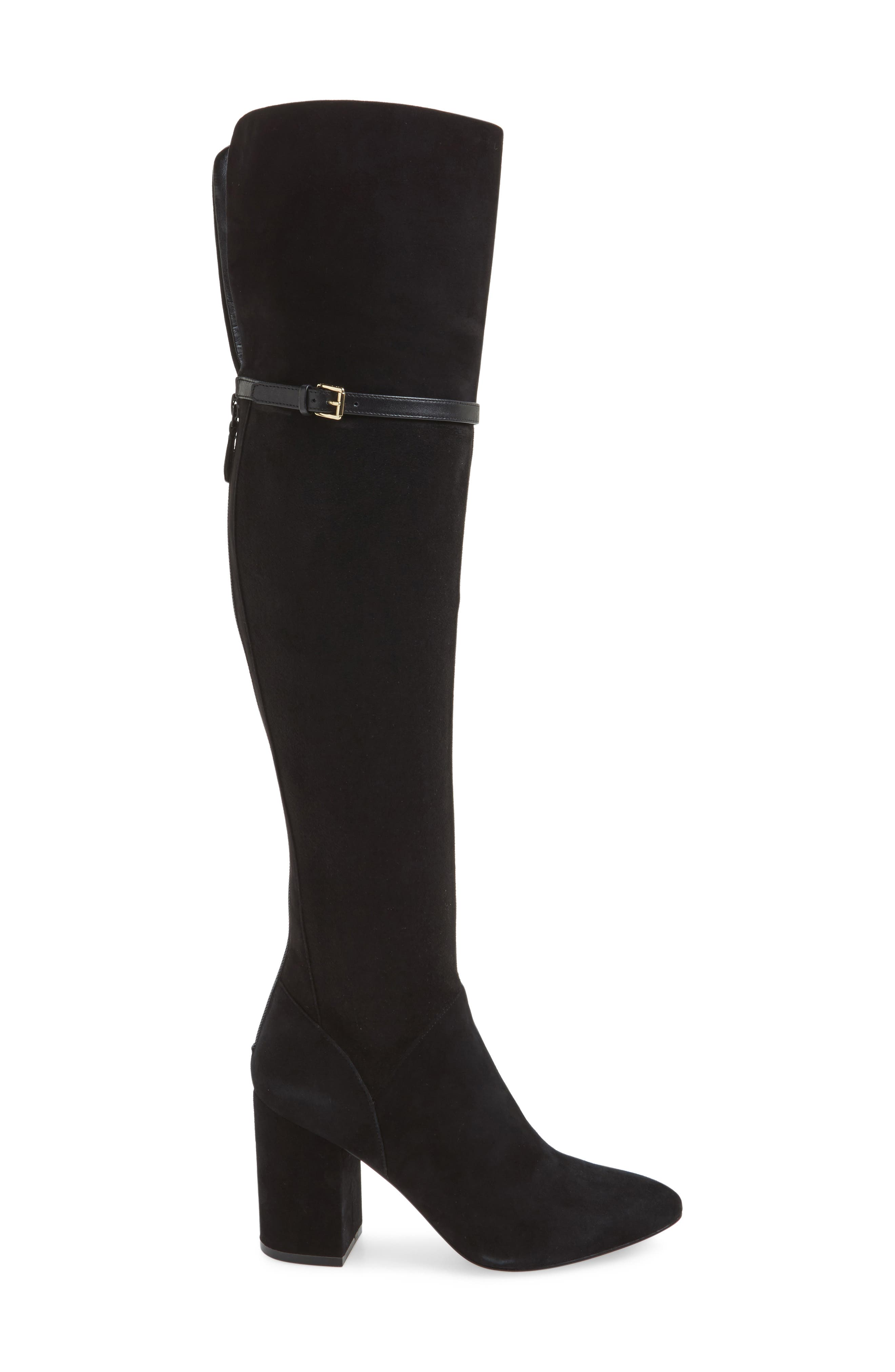 Darcia Over the Knee Boot,                             Alternate thumbnail 3, color,                             001