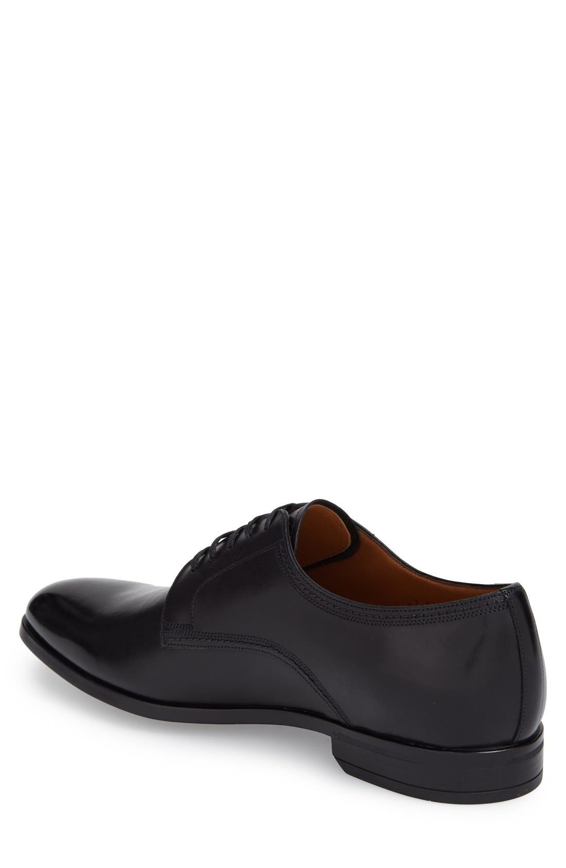 'Latour' Plain Toe Derby,                             Alternate thumbnail 6, color,                             001