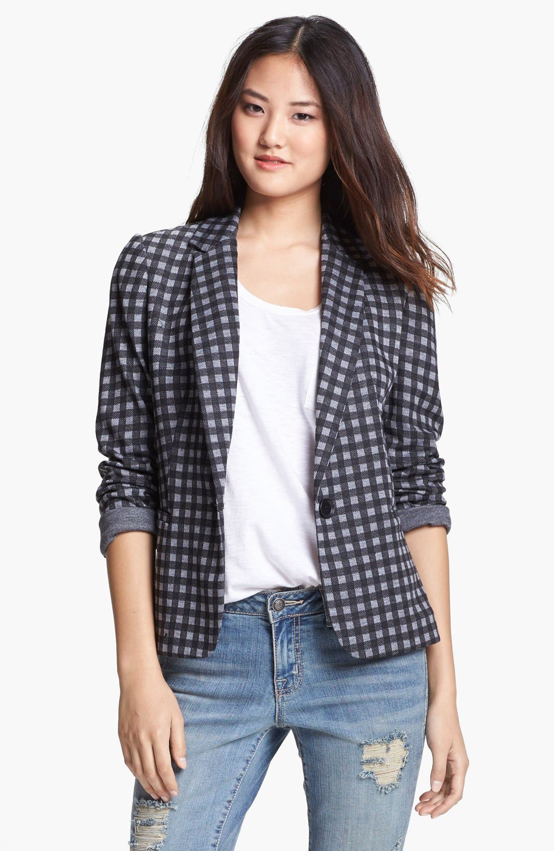 Knit Blazer,                             Alternate thumbnail 76, color,