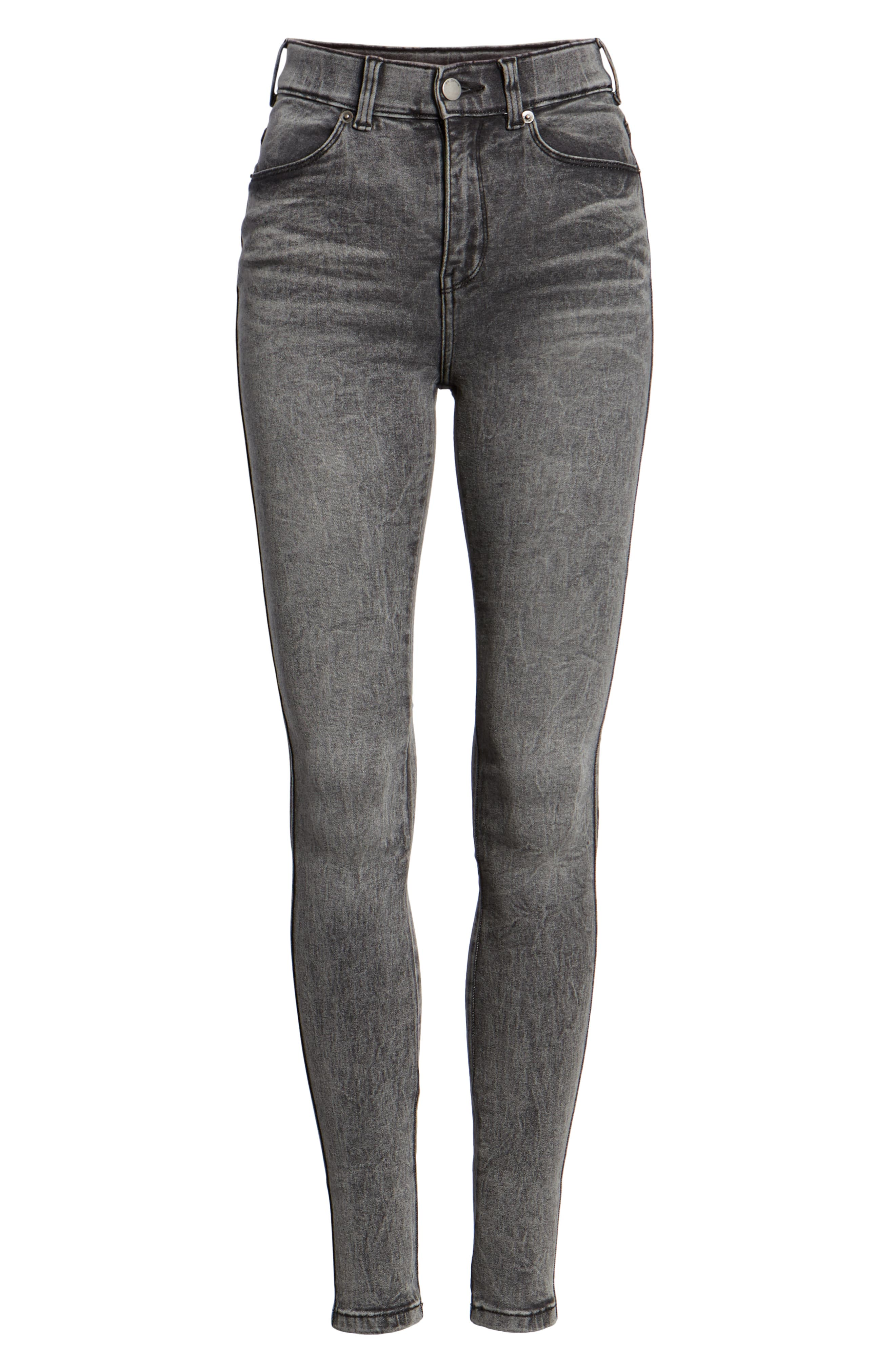 Lexy Skinny Jeans,                             Alternate thumbnail 7, color,                             BOULDER GREY