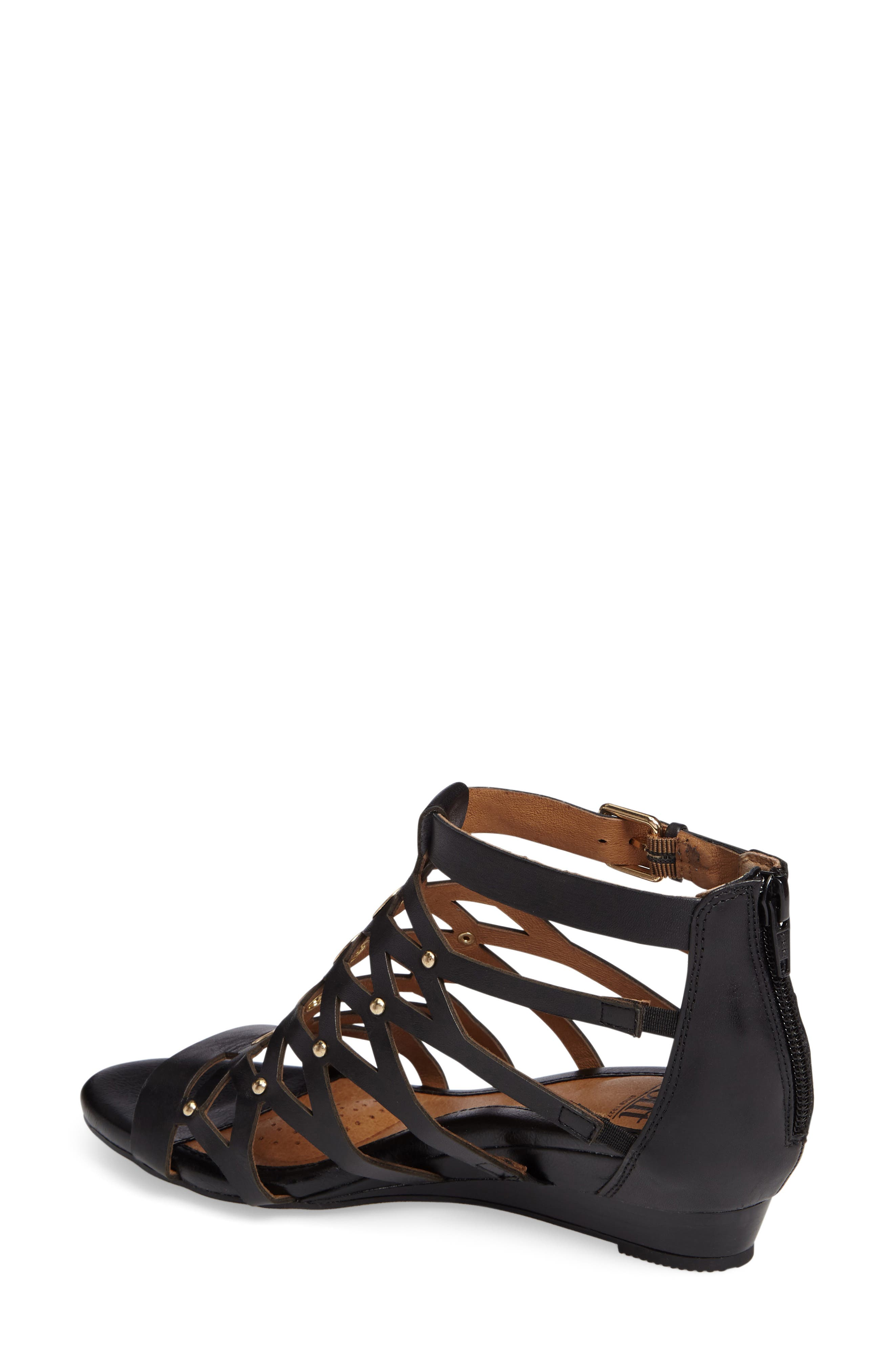 Rosalyn Wedge Sandal,                             Alternate thumbnail 2, color,                             001