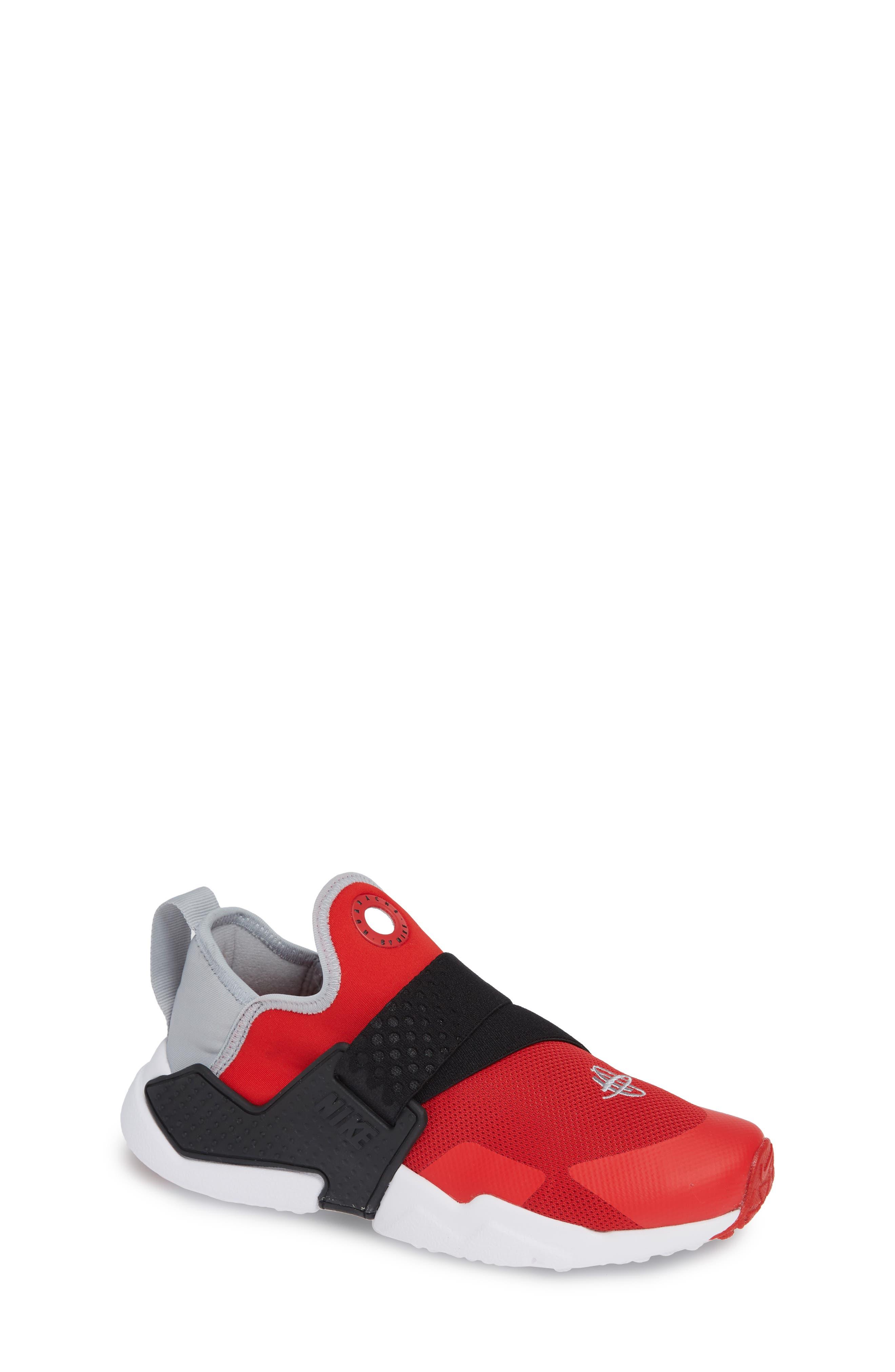 Huarache Extreme Sneaker,                             Main thumbnail 1, color,                             RED/ GREY/ BLACK/ WHITE