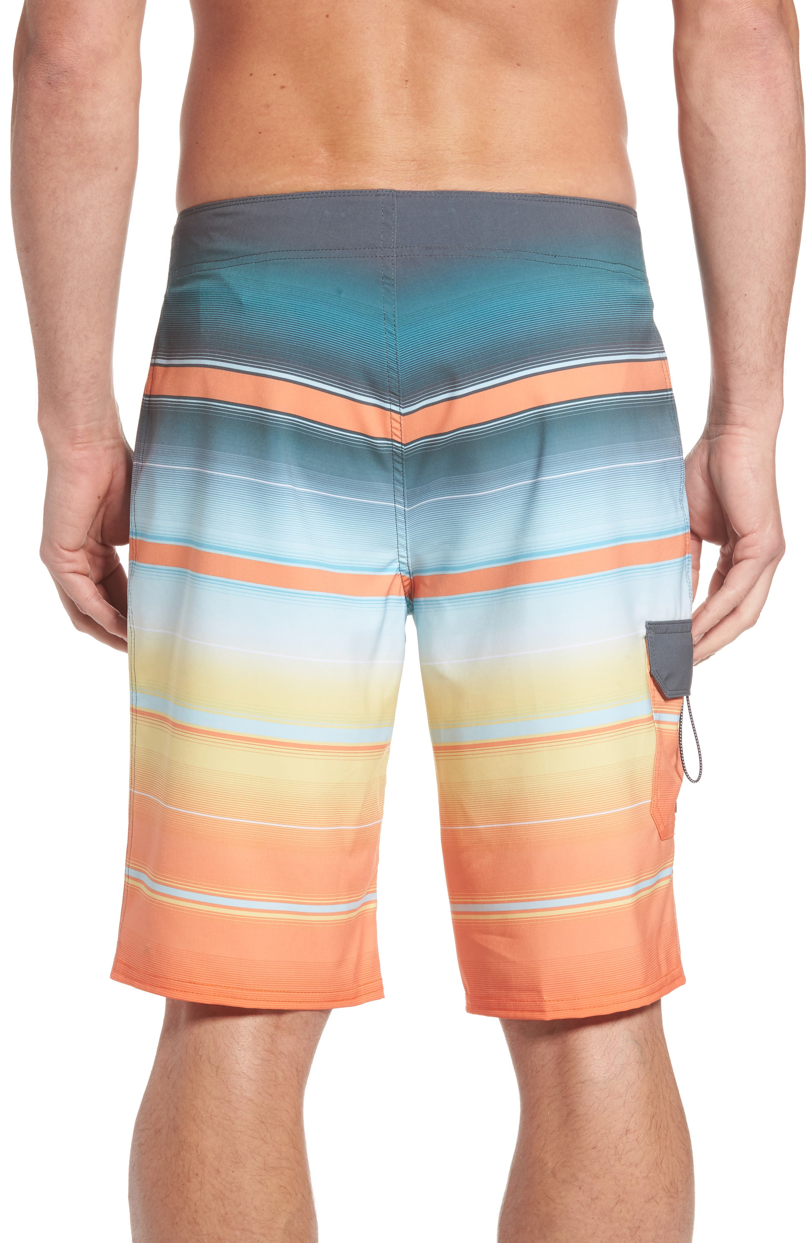 All Day X Stripe Board Shorts,                             Alternate thumbnail 10, color,