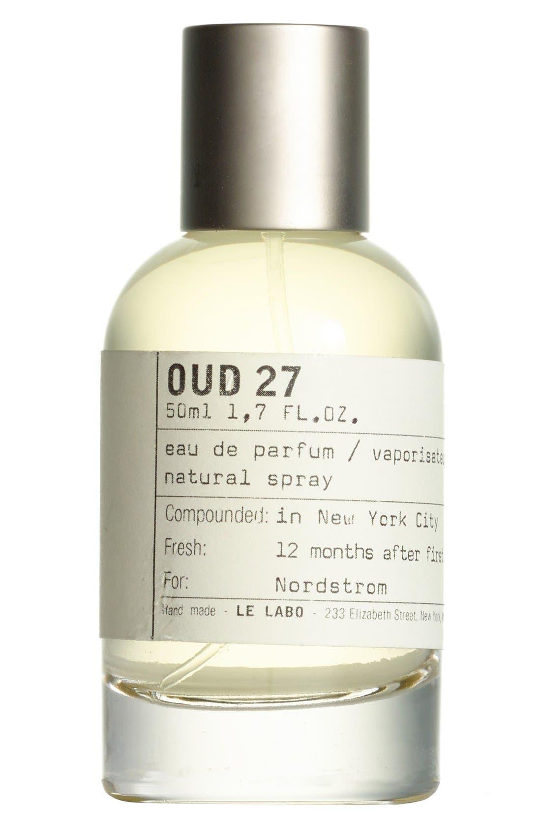 'Oud 27' Eau de Parfum,                             Alternate thumbnail 4, color,                             000