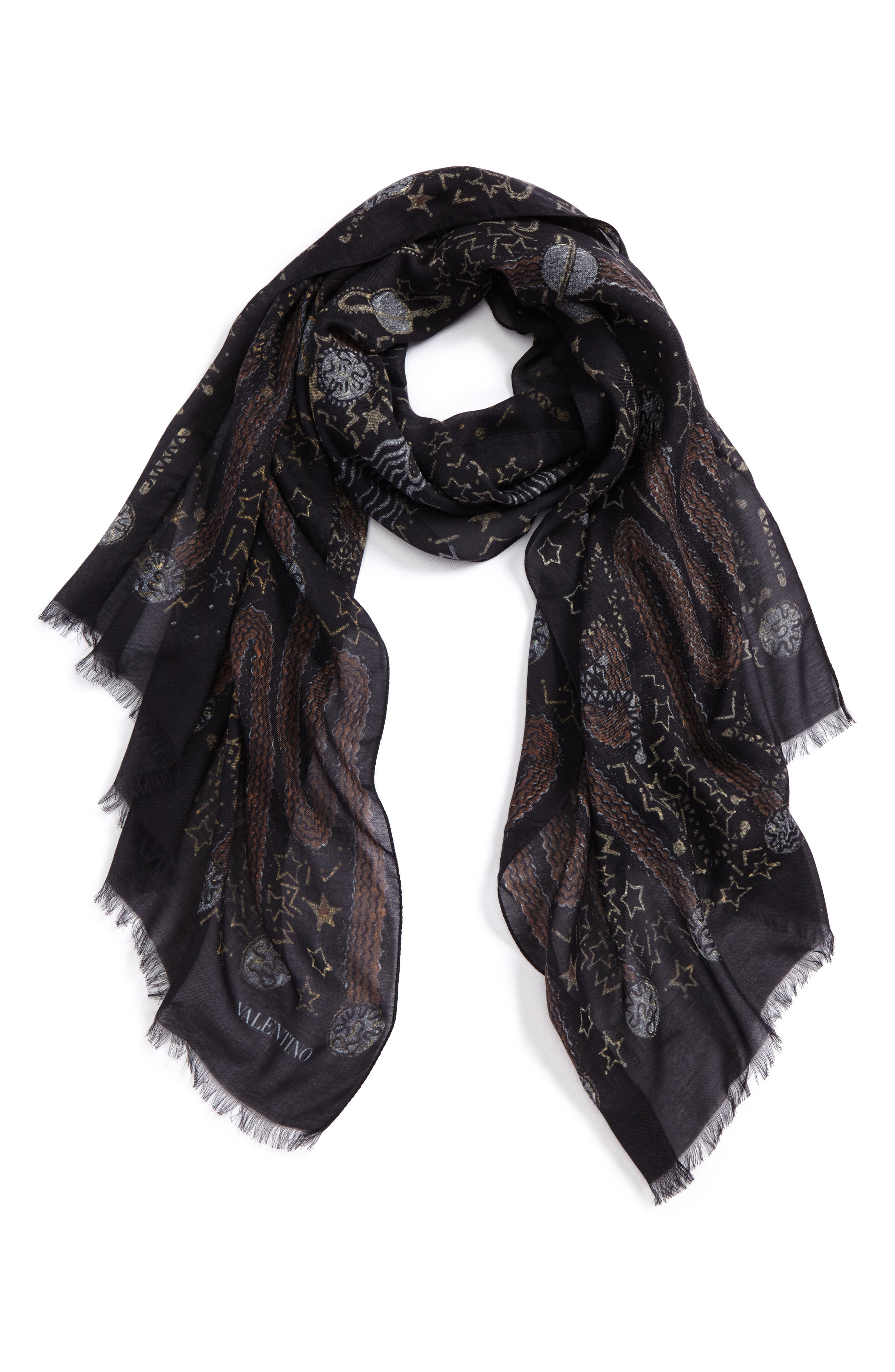 Modal & Cashmere Scarf,                             Main thumbnail 1, color,