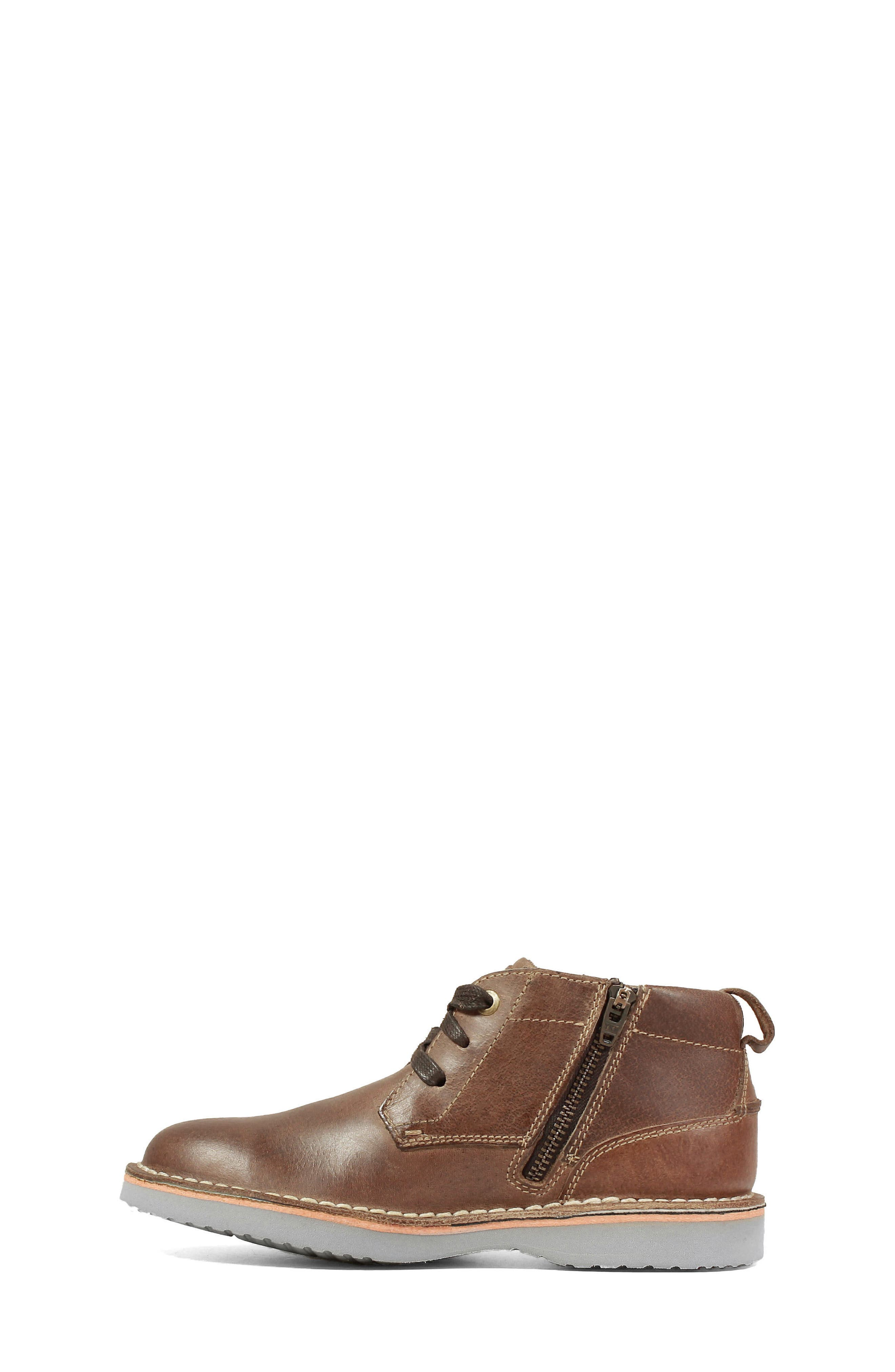 Chukka Boot,                             Alternate thumbnail 8, color,                             BROWN CRAZY HORSE LEATHER