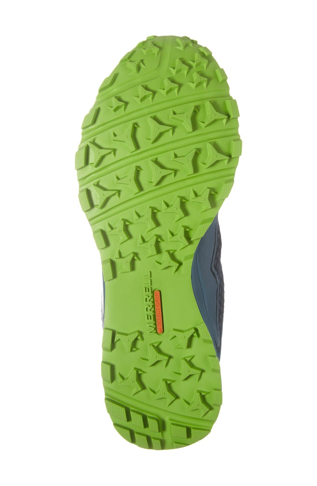 'All Out Crush Light' Trail Running Shoe,                             Alternate thumbnail 3, color,                             300