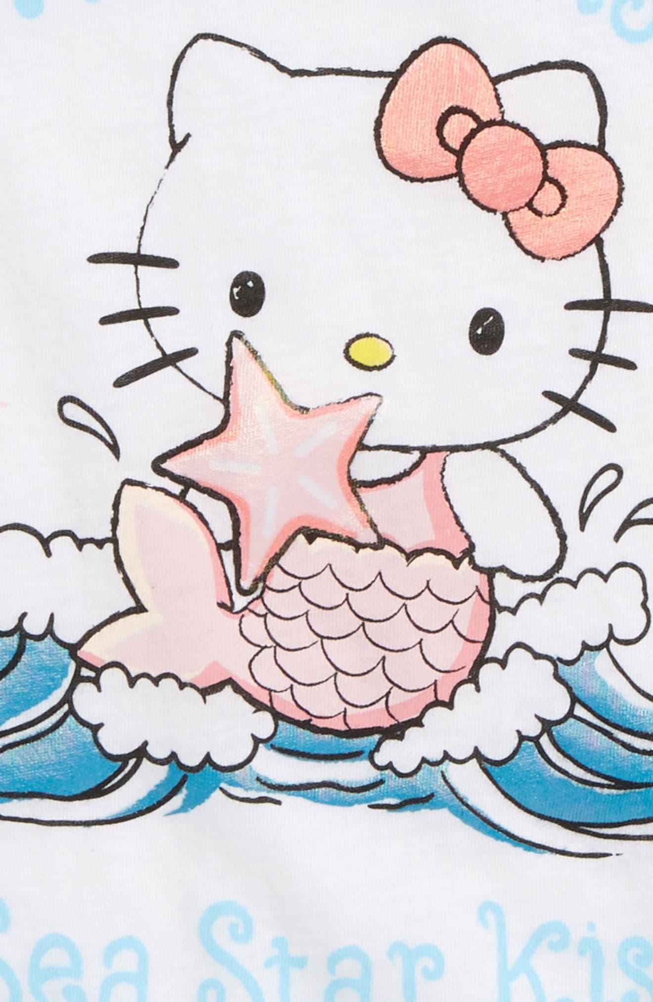Mermaid Wishes Flutter Sleeve Tank,                             Alternate thumbnail 4, color,