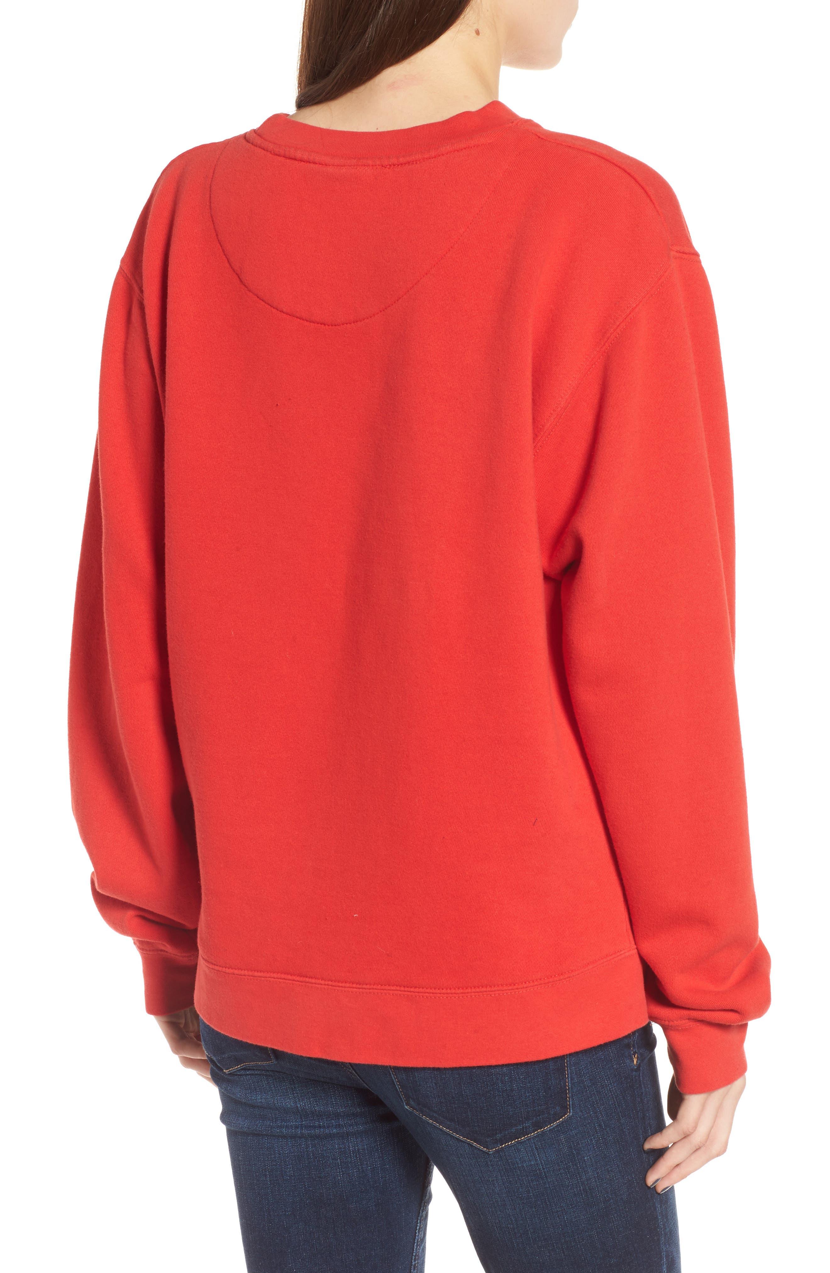 JUNK FOOD,                             Junkfood Disney<sup>®</sup> Classic Mickey Sweatshirt,                             Alternate thumbnail 2, color,                             600