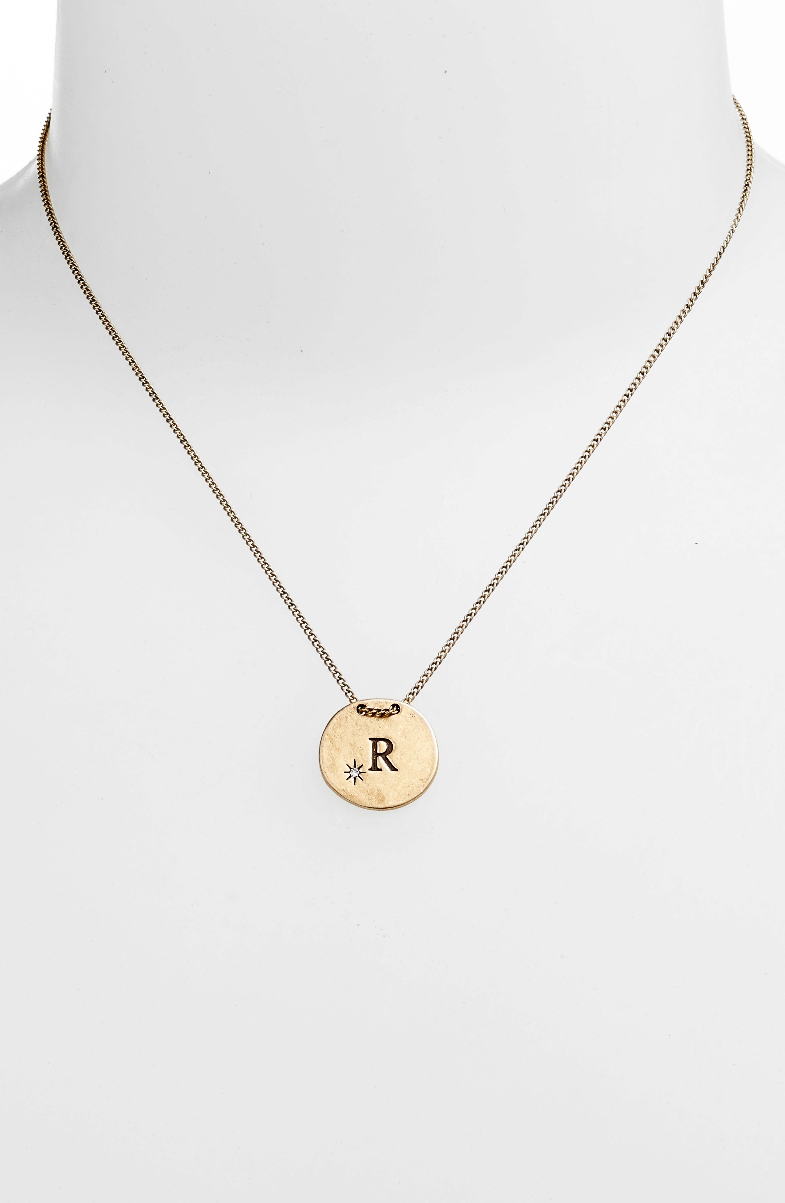 Initial Collar Necklace,                             Alternate thumbnail 76, color,