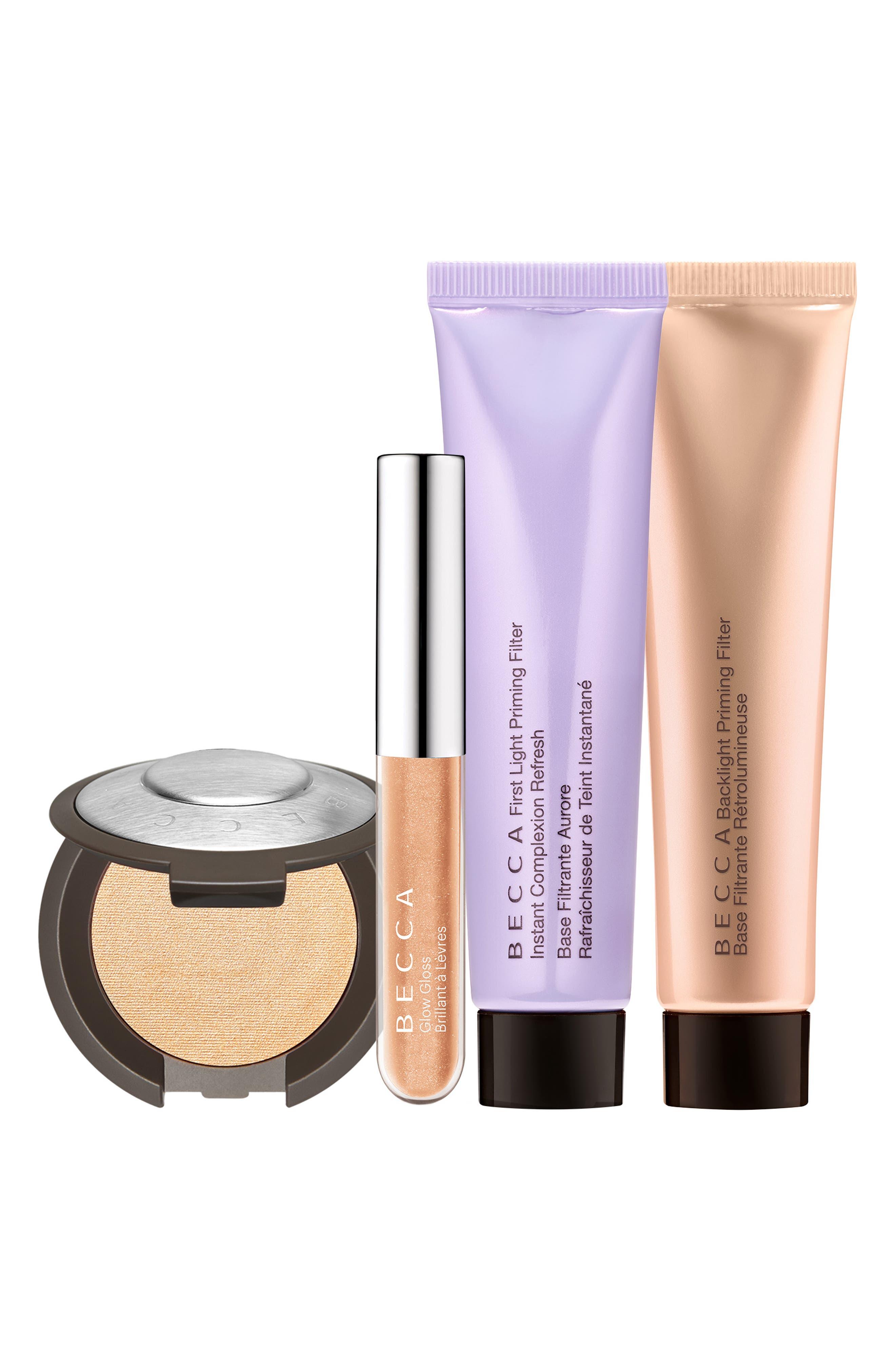 BECCA Glow Essentials Kit,                         Main,                         color, NO COLOR