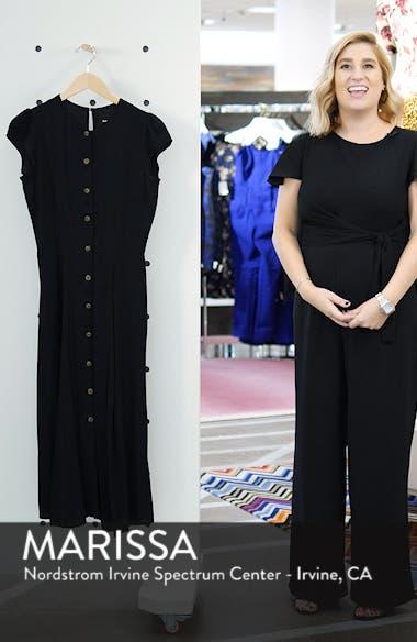 Fauna Front Button Midi Dress, sales video thumbnail