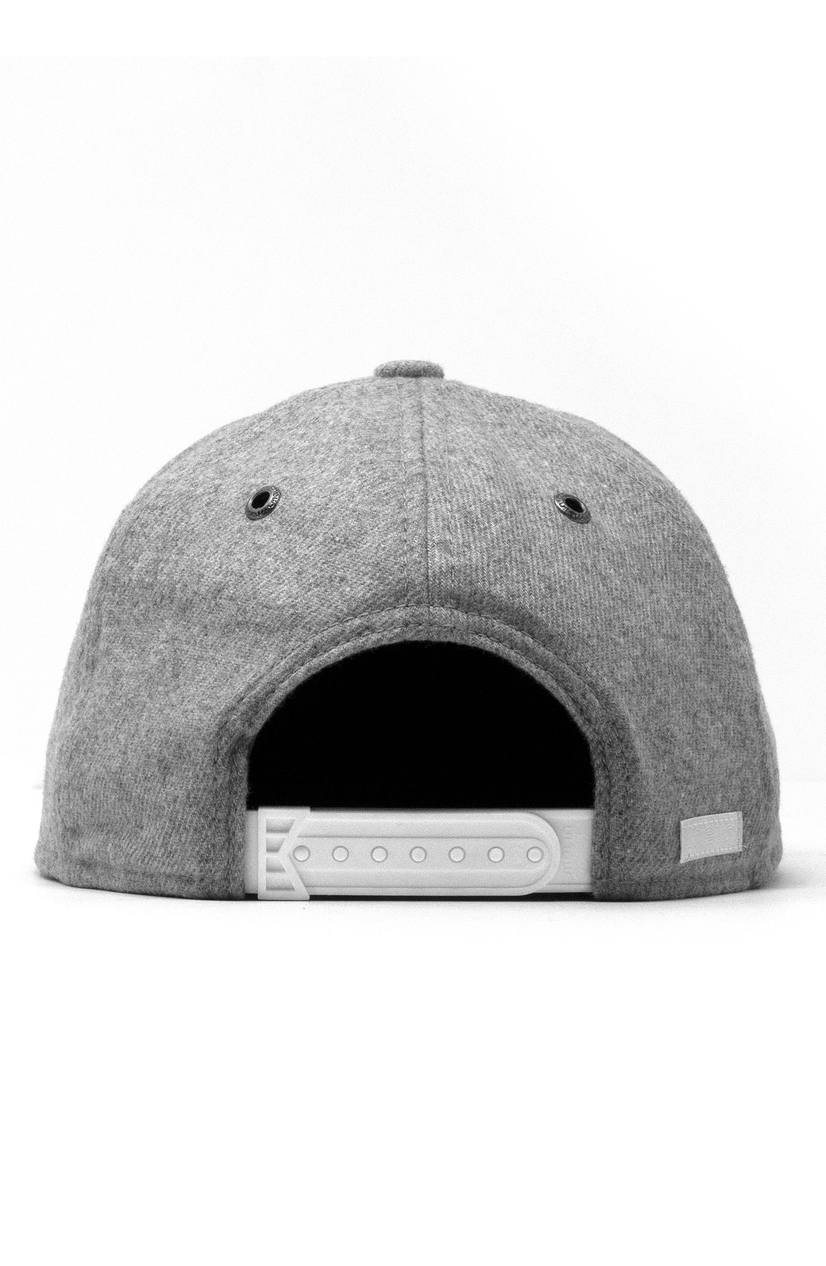 The Advocate Wool Baseball Cap,                             Alternate thumbnail 3, color,                             HEATHER GREY