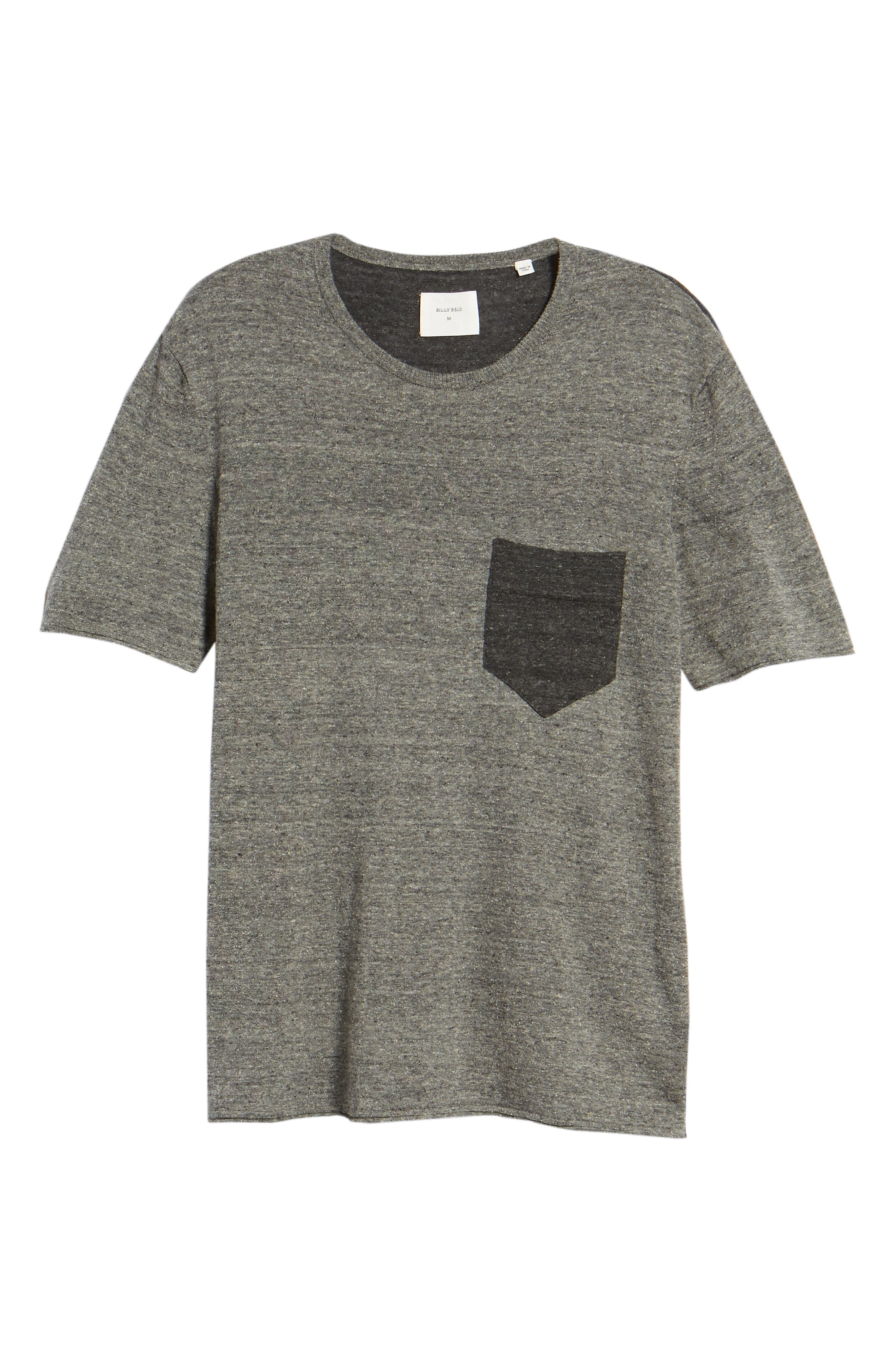Two-Tone Crewneck T-Shirt,                             Alternate thumbnail 6, color,                             060