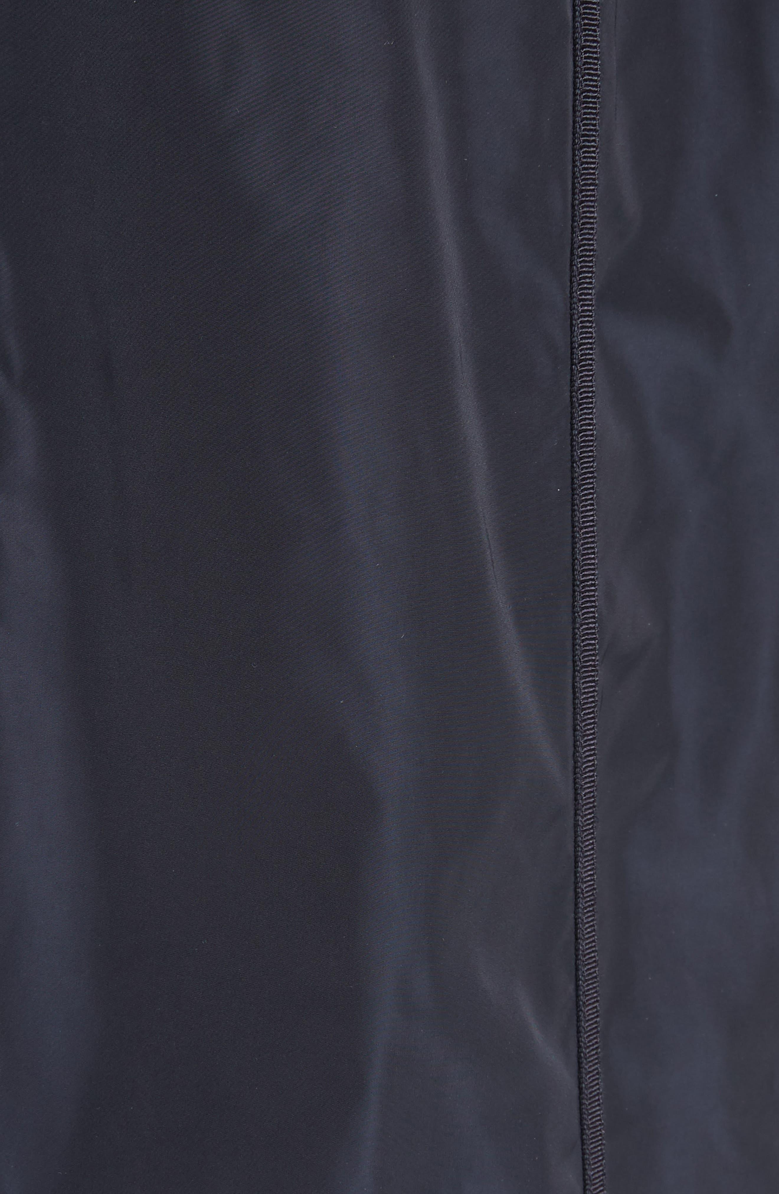 Anthemis Rain Coat,                             Alternate thumbnail 6, color,                             NAVY