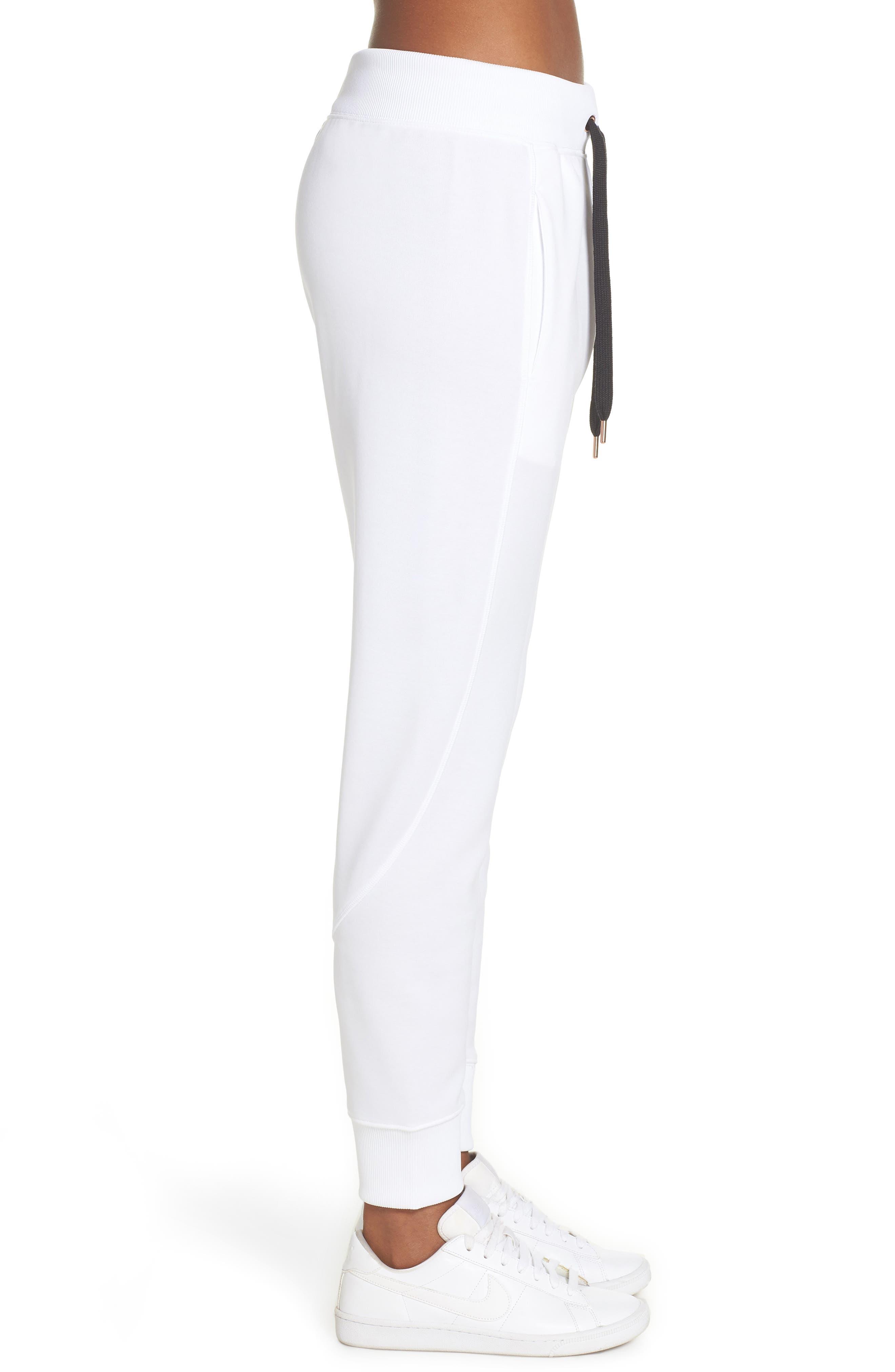 Sportswear Air Jogger Pants,                             Alternate thumbnail 3, color,                             WHITE/ ROSE GOLD/ BLACK