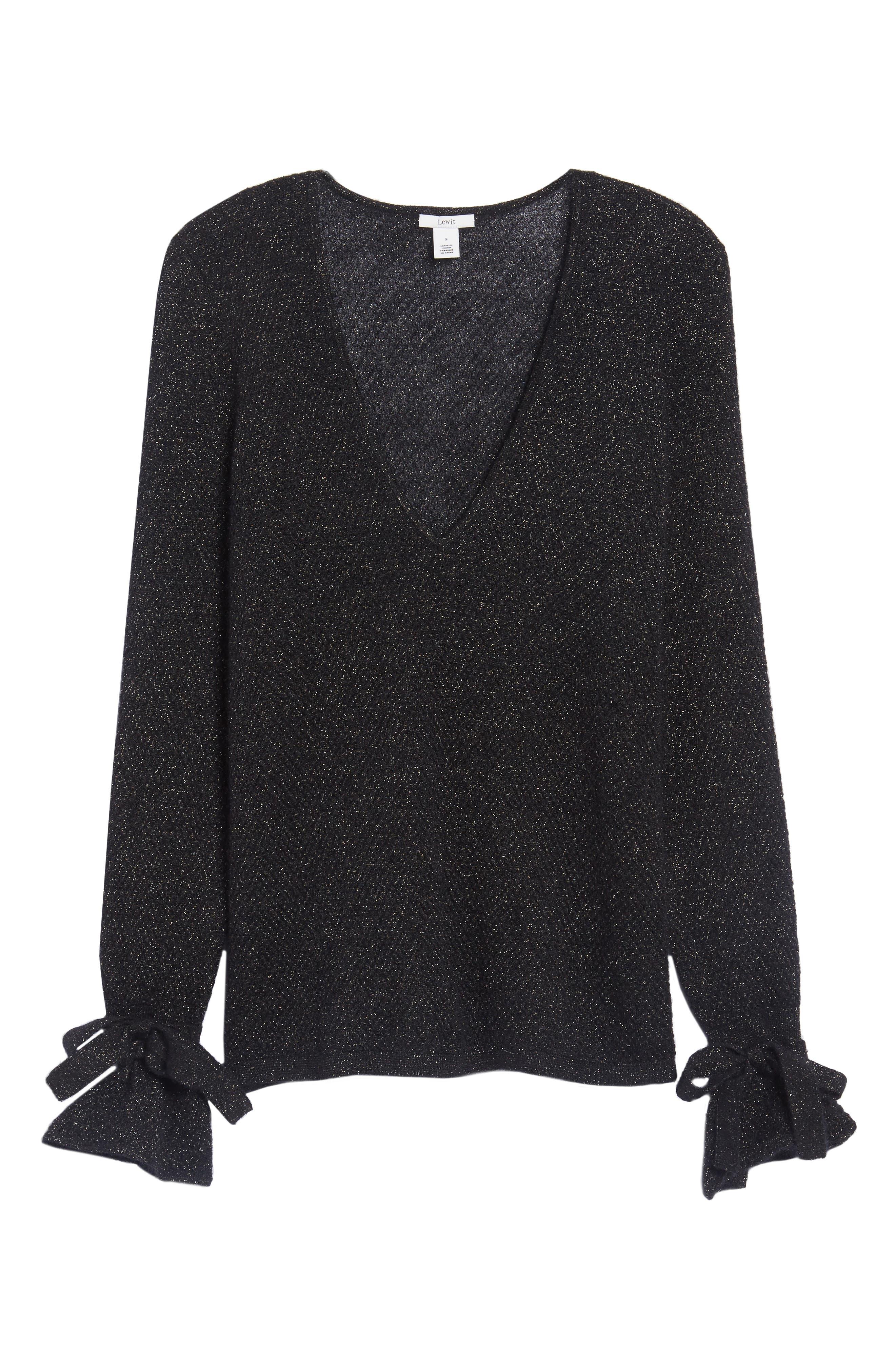 Metallic Mohair Blend Sweater,                             Alternate thumbnail 12, color,