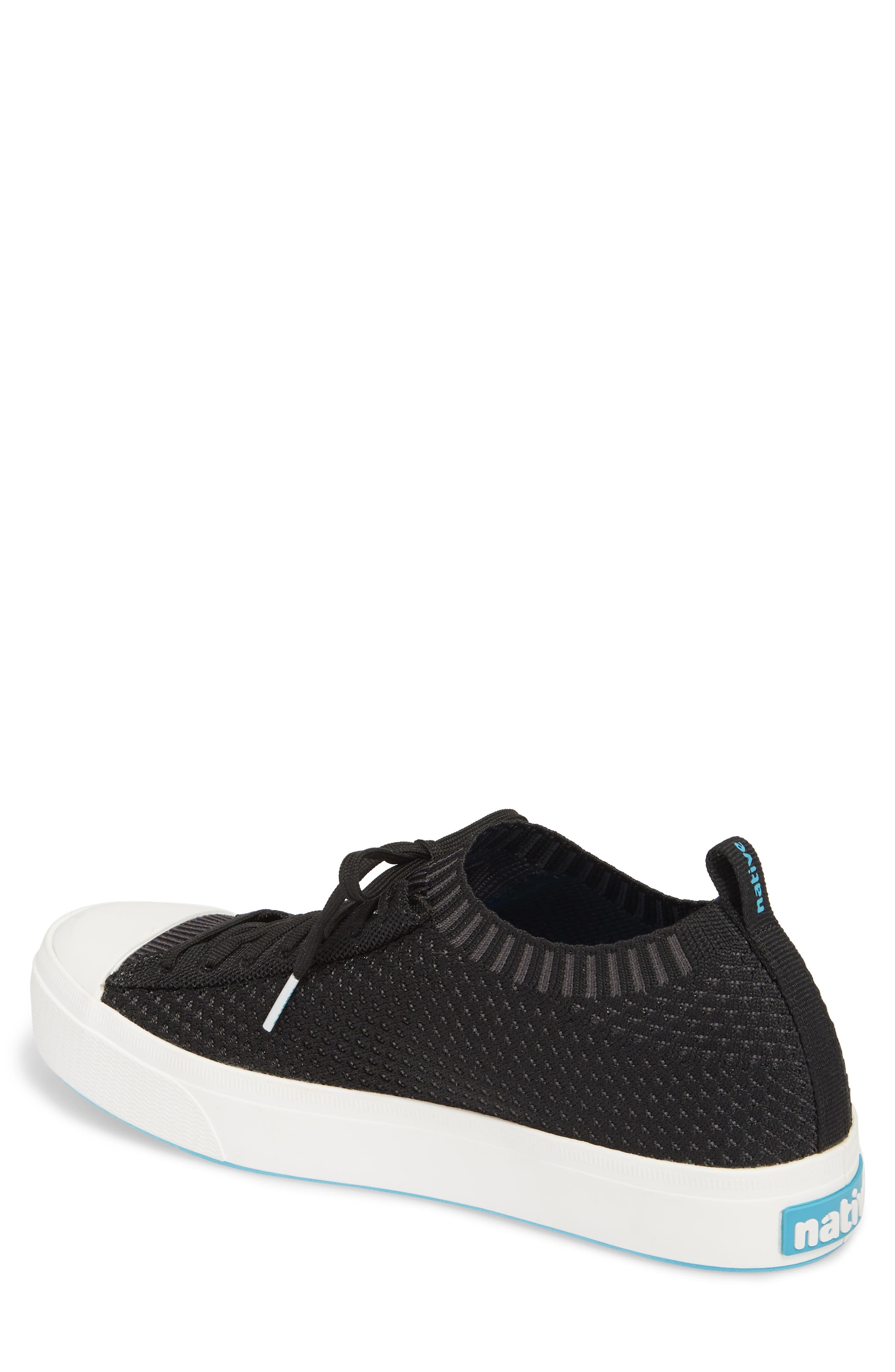 Jefferson 2.0 Liteknit Lace-Up Sneaker,                             Alternate thumbnail 2, color,                             JIFFY BLACK/ SHELL WHITE