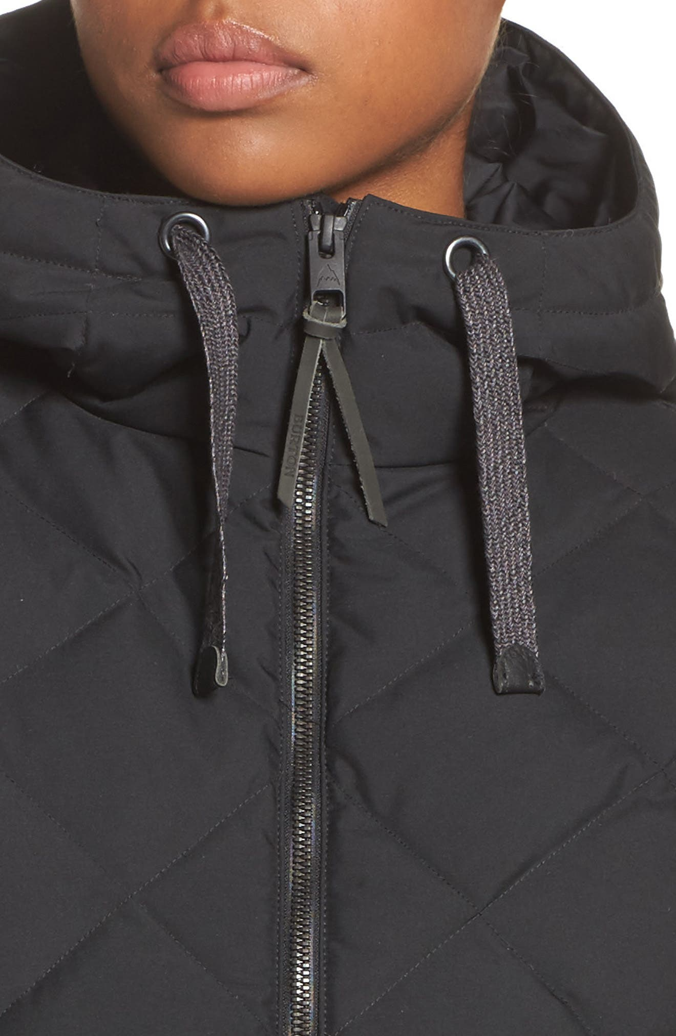 Bixby Long Down Jacket,                             Alternate thumbnail 4, color,                             001