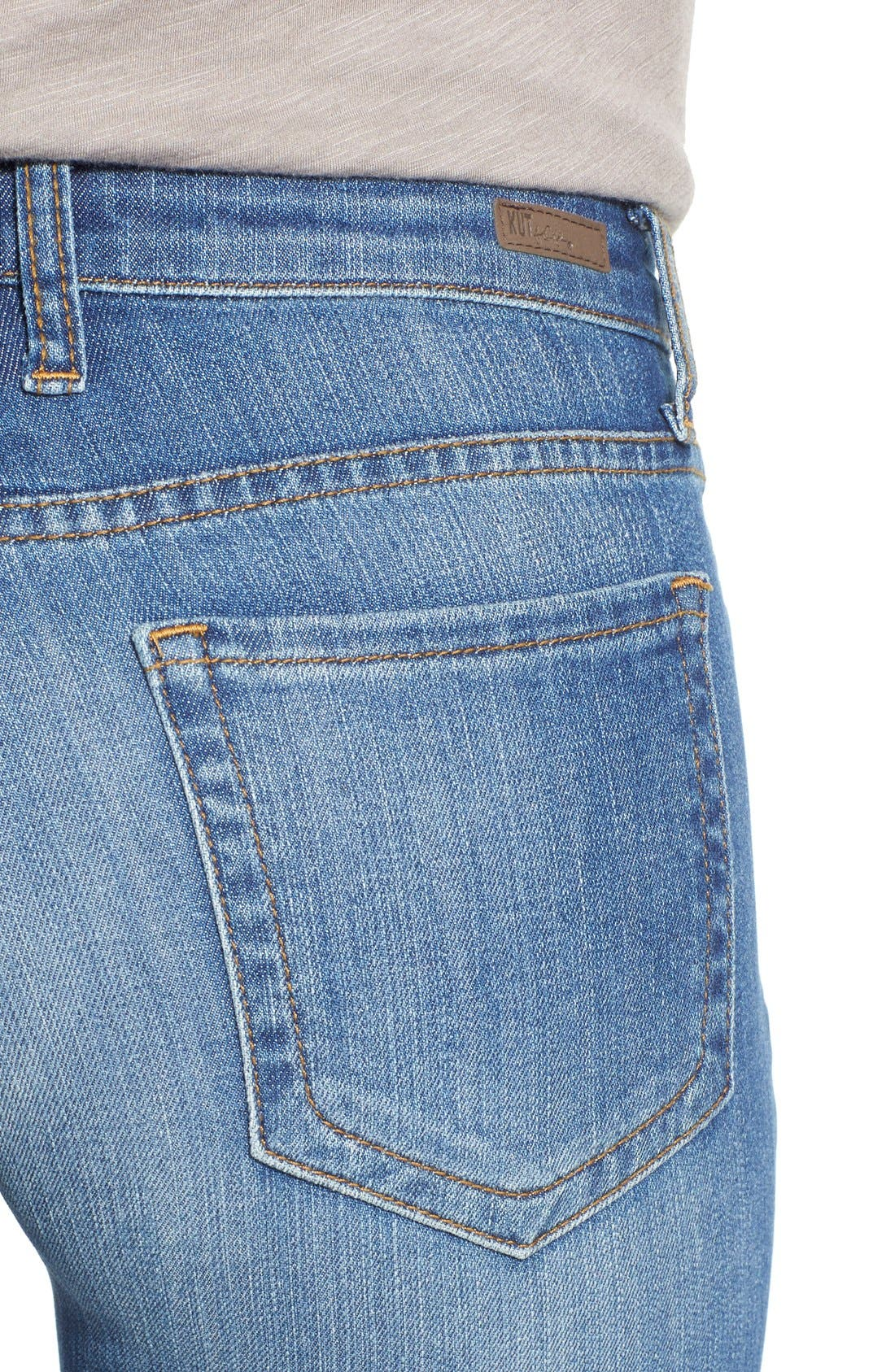 'Diana' Stretch Skinny Jeans,                             Alternate thumbnail 3, color,                             402