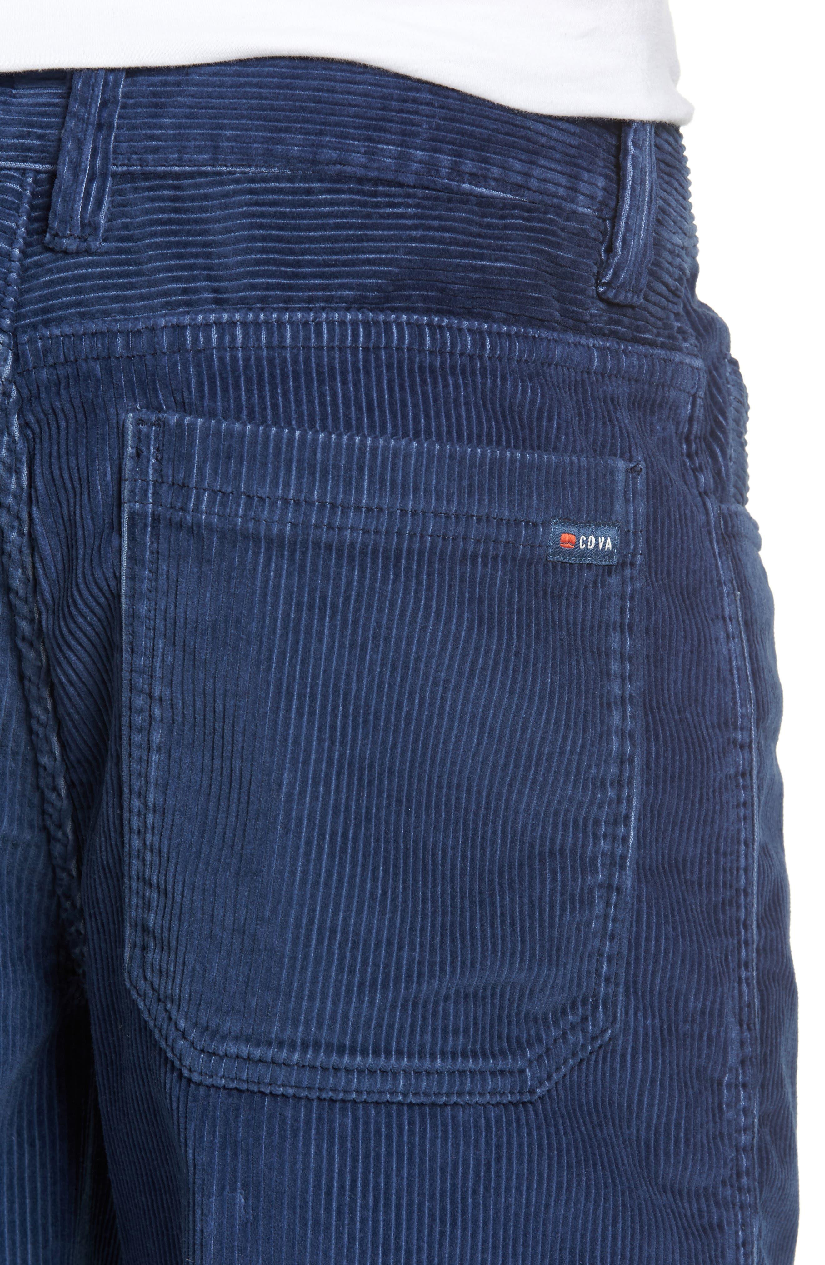 Kordo Corduroy Walking Shorts,                             Alternate thumbnail 4, color,                             410