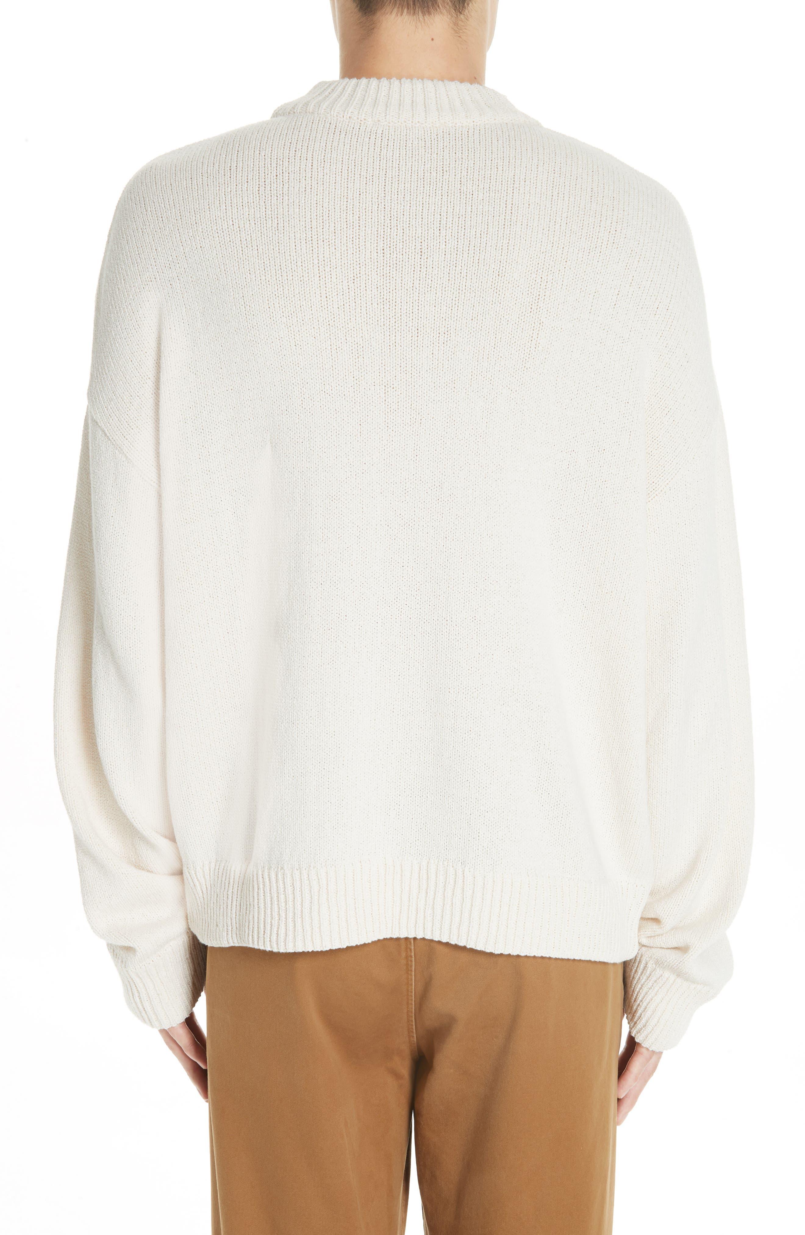 Somar Oversized Crewneck Sweater,                             Alternate thumbnail 2, color,                             100