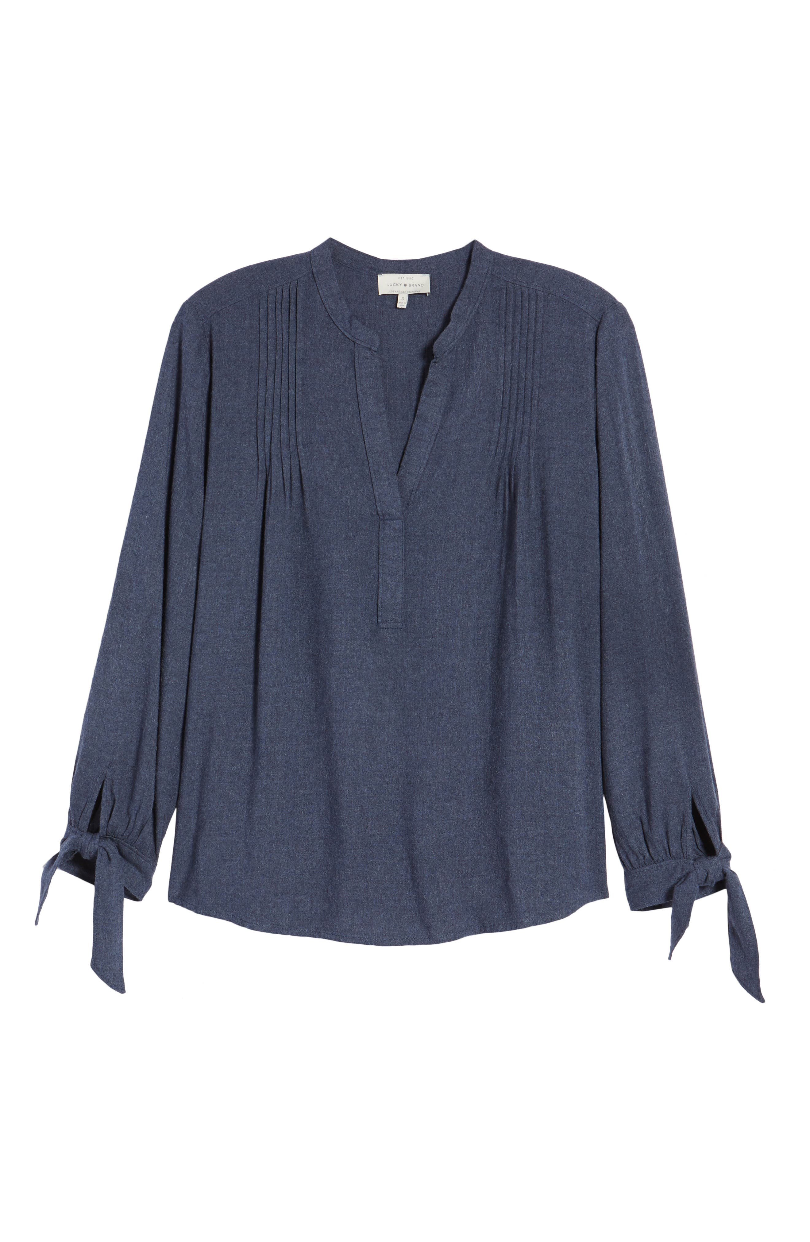 Tie Sleeve Top,                             Alternate thumbnail 6, color,                             467