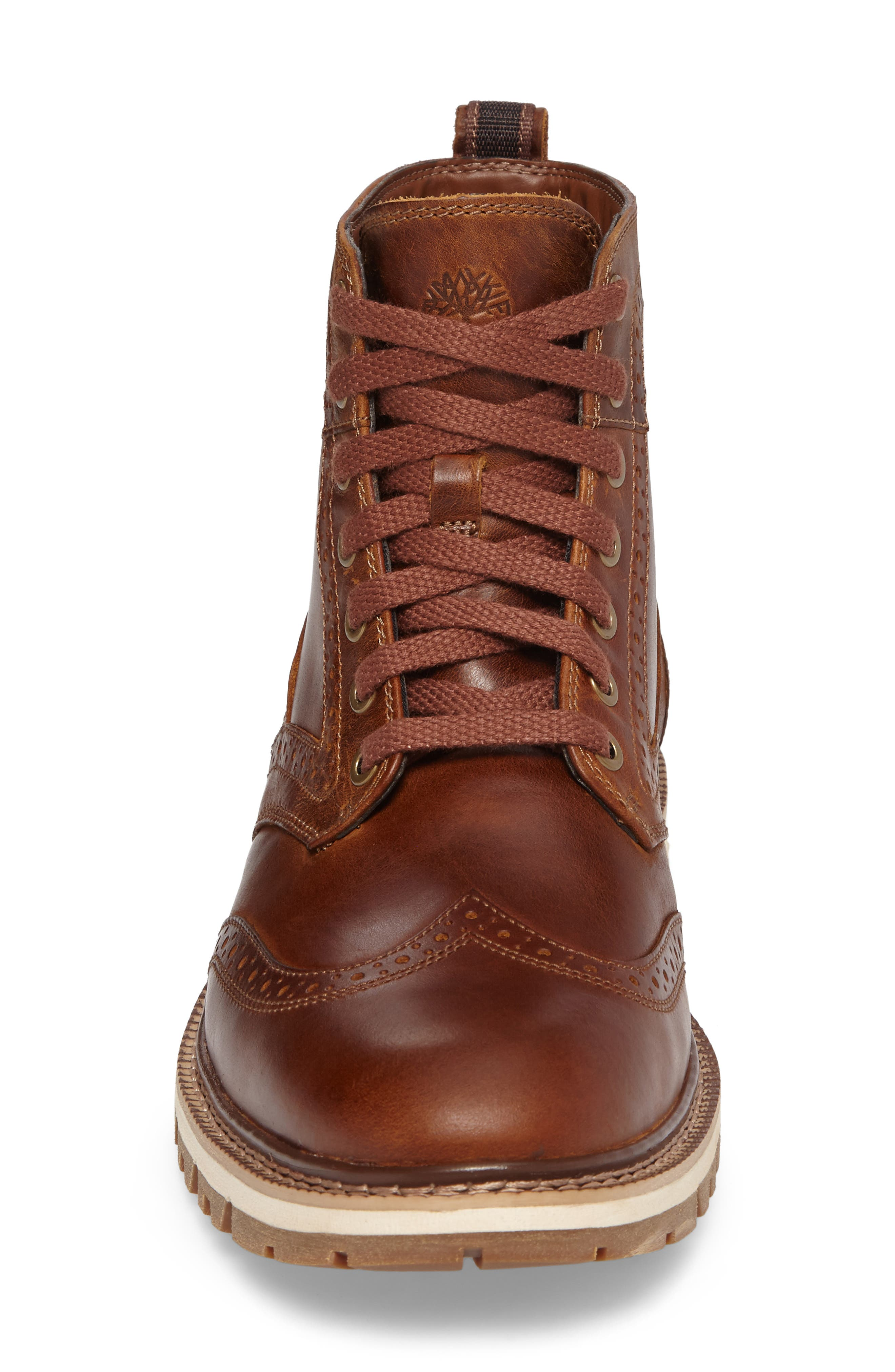 Britton Hill Wingtip Boot,                             Alternate thumbnail 8, color,