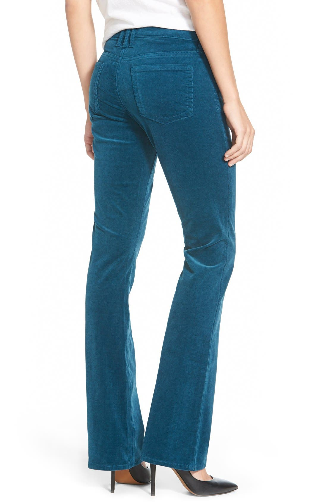 Baby Bootcut Corduroy Jeans,                             Alternate thumbnail 71, color,