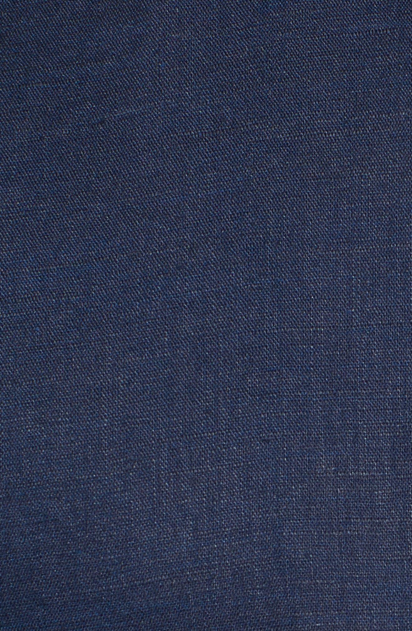 Monaco Tides Standard Fit Linen Blend Camp Shirt,                             Alternate thumbnail 29, color,