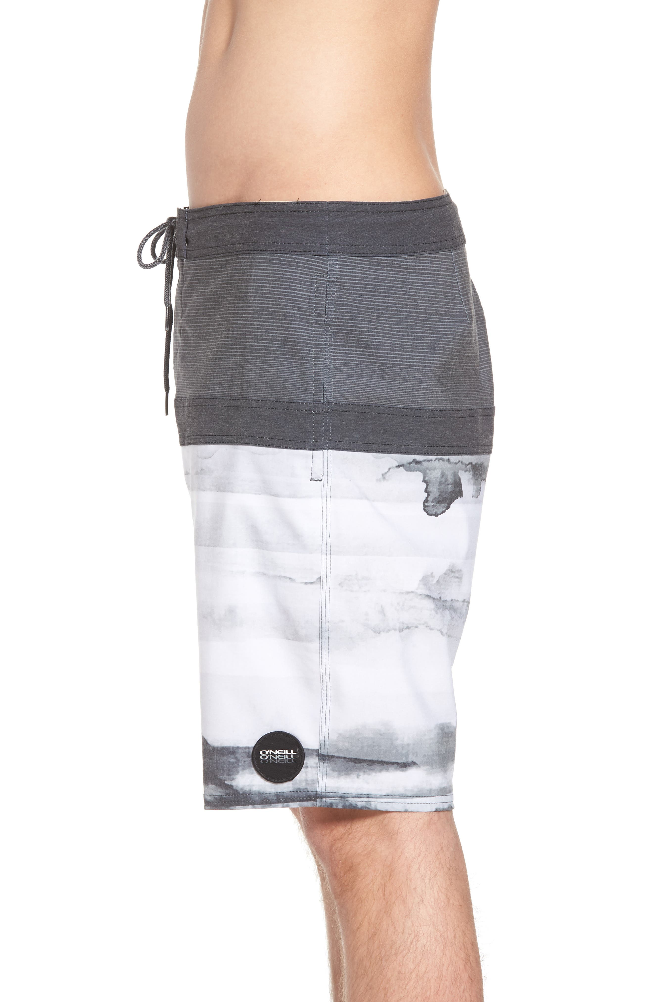 Breaker Cruzer Board Shorts,                             Alternate thumbnail 3, color,                             001