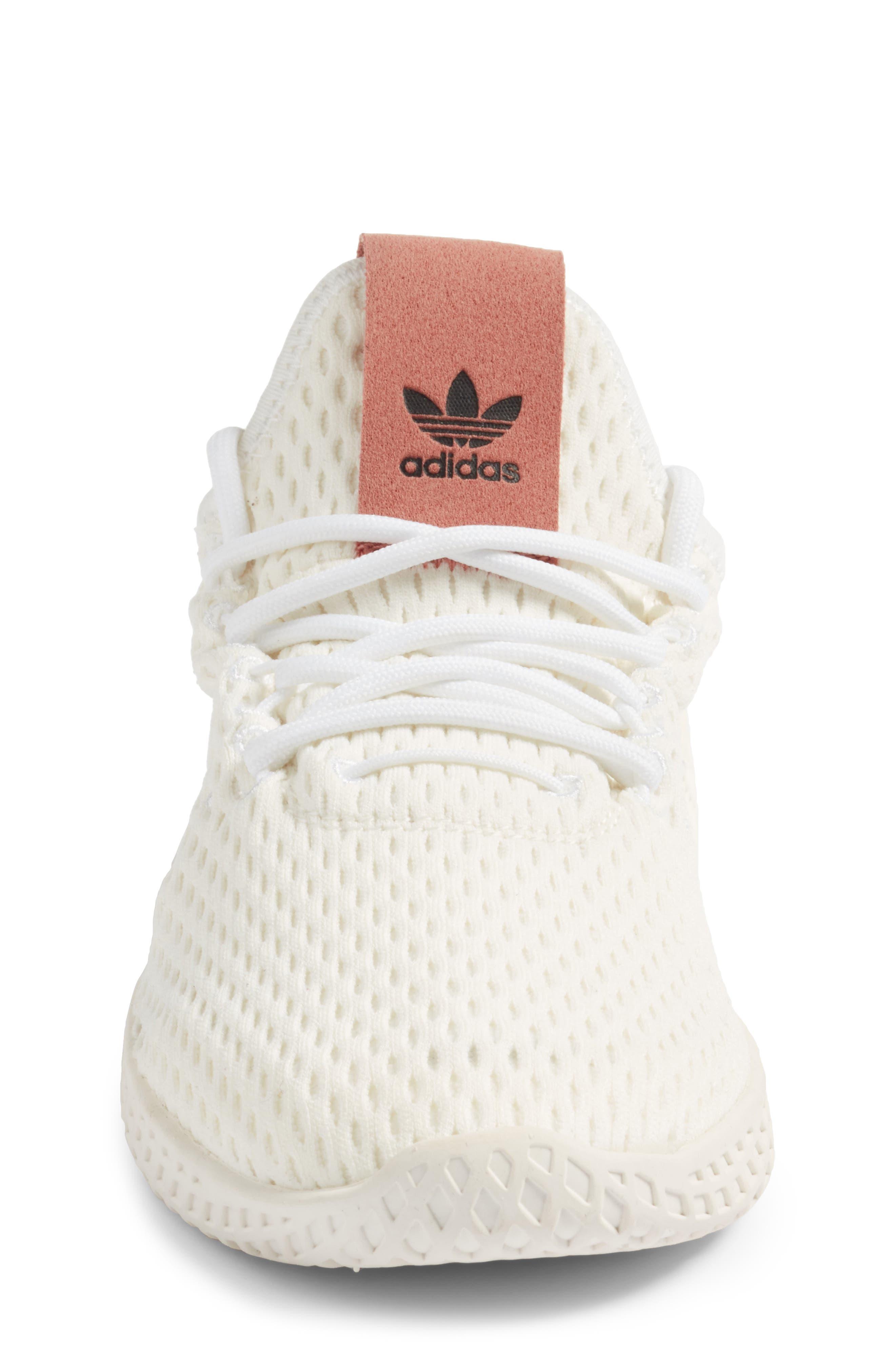 Originals x Pharrell Williams The Summers Mesh Sneaker,                             Alternate thumbnail 4, color,                             100
