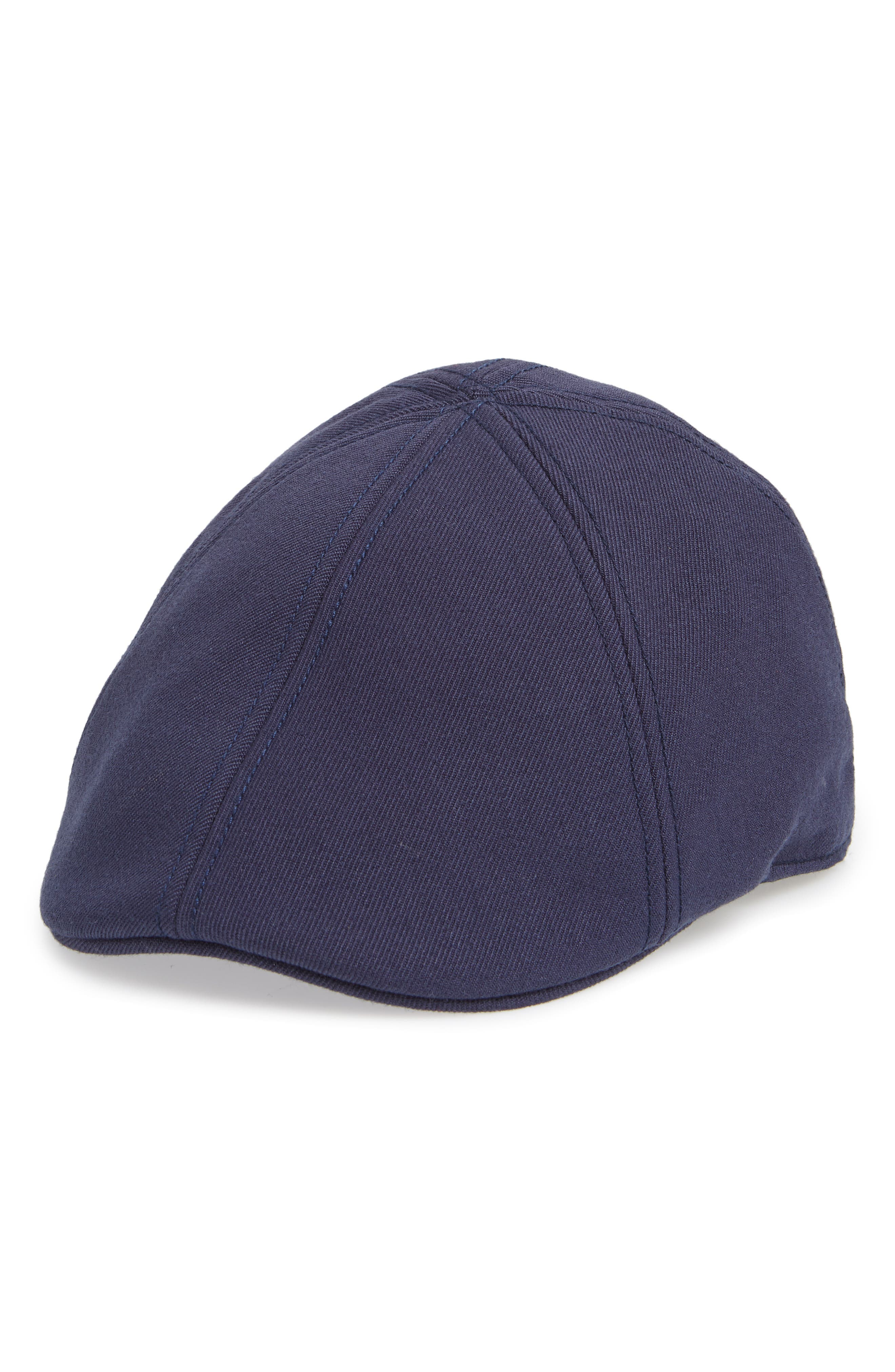 Old Town Driving Cap,                         Main,                         color, BLUE