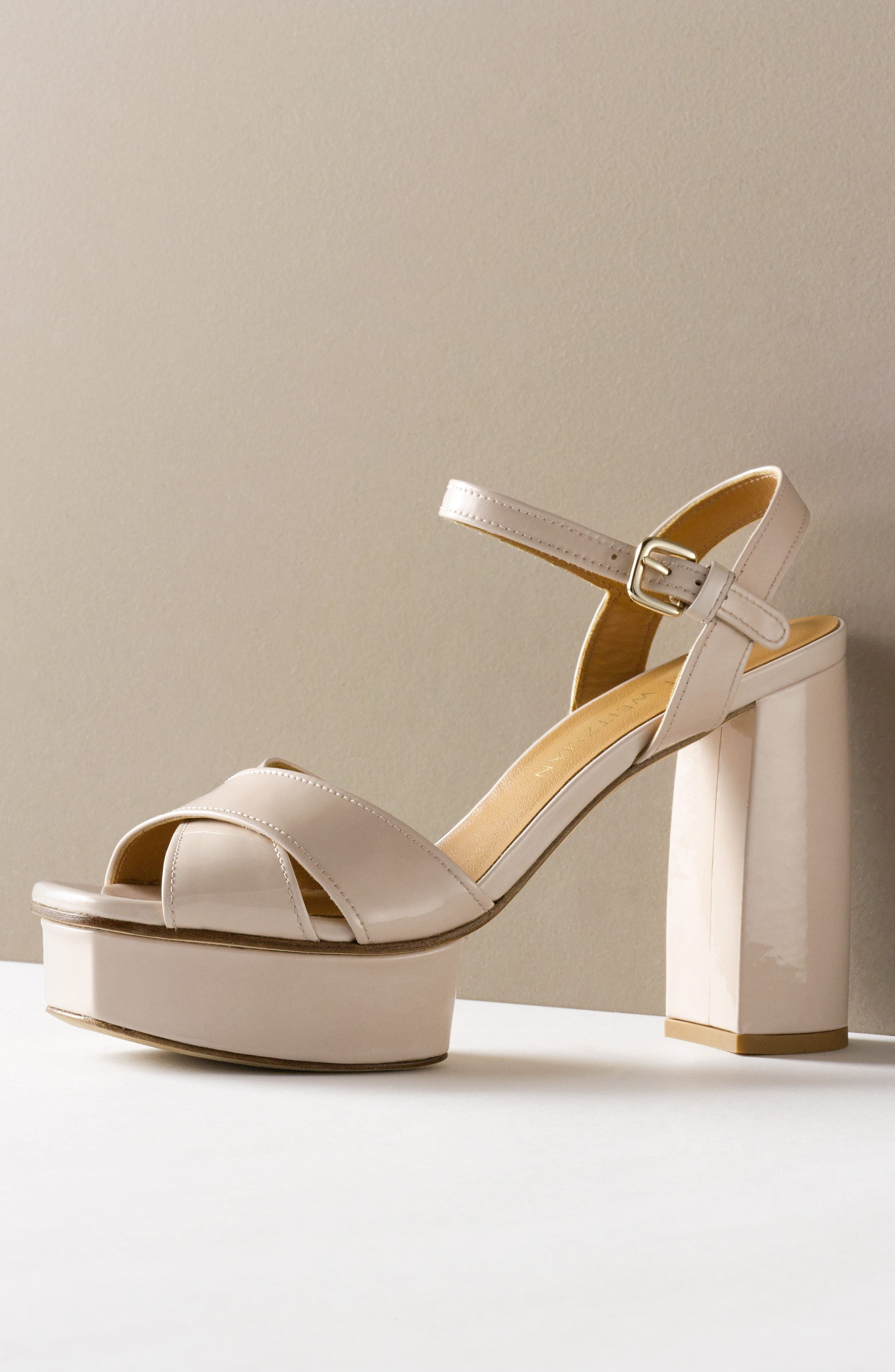 Exposed Platform Sandal,                             Alternate thumbnail 31, color,