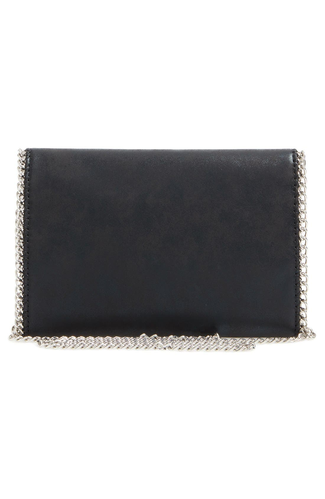Faux Leather Crossbody Clutch,                             Alternate thumbnail 23, color,