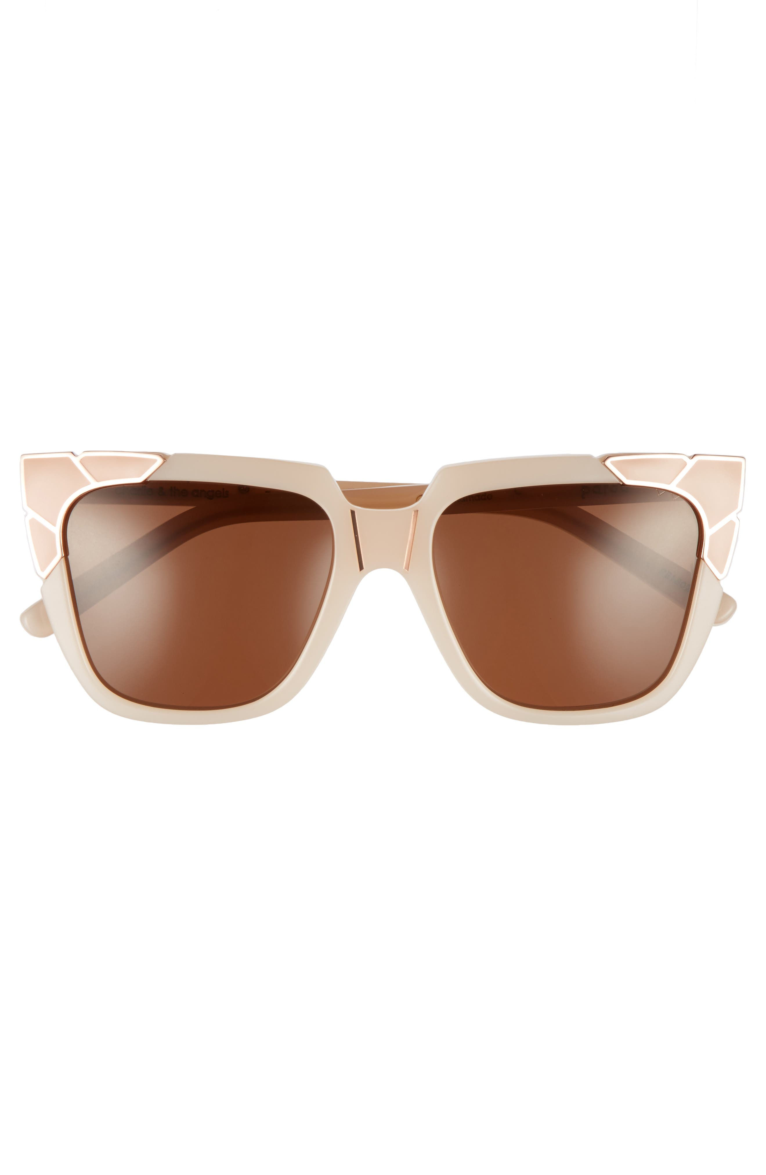 Charlie & the Angels 54mm Sunglasses,                             Alternate thumbnail 3, color,                             800