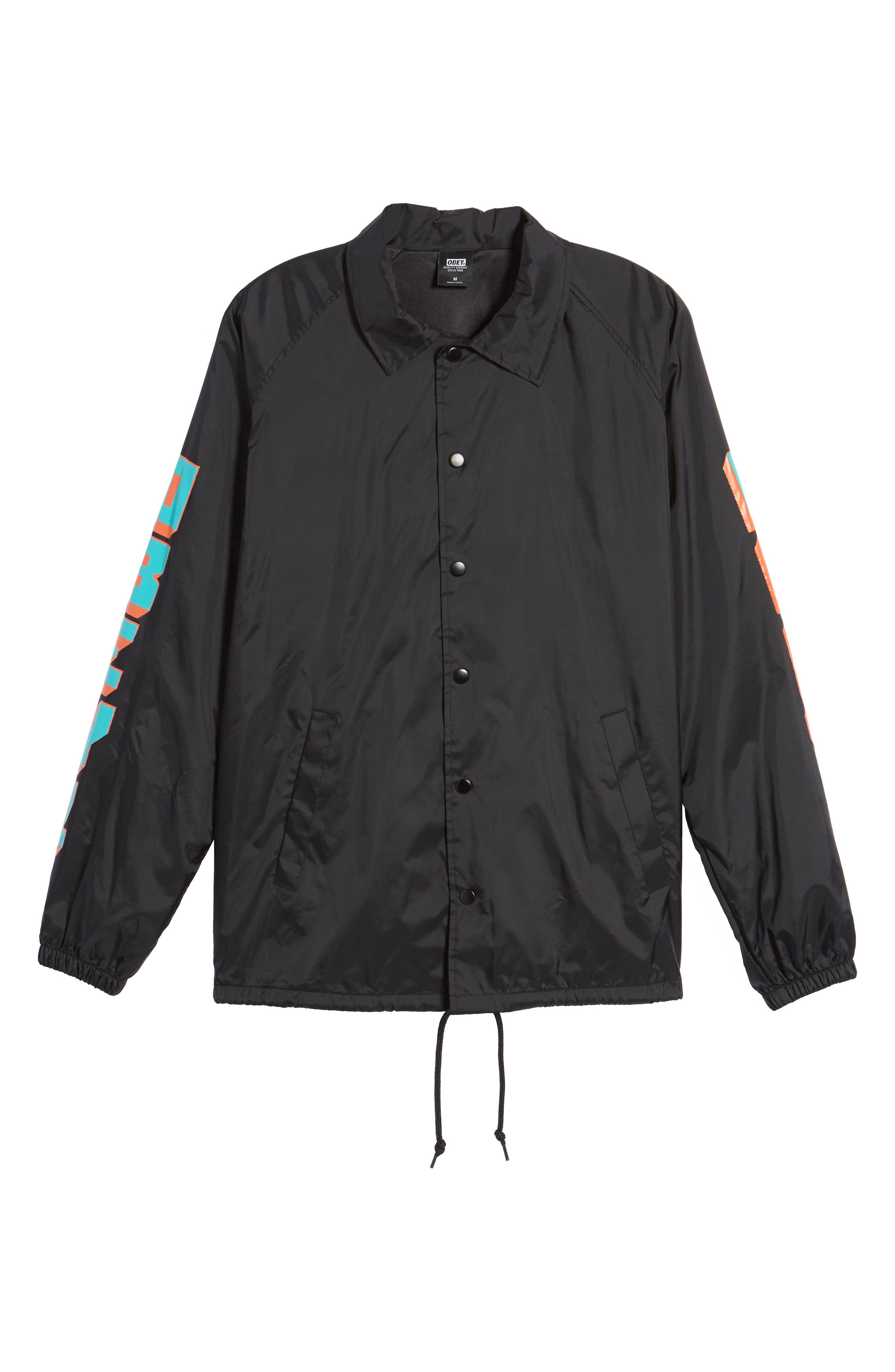 New World 2 Coach's Jacket,                             Alternate thumbnail 5, color,                             001