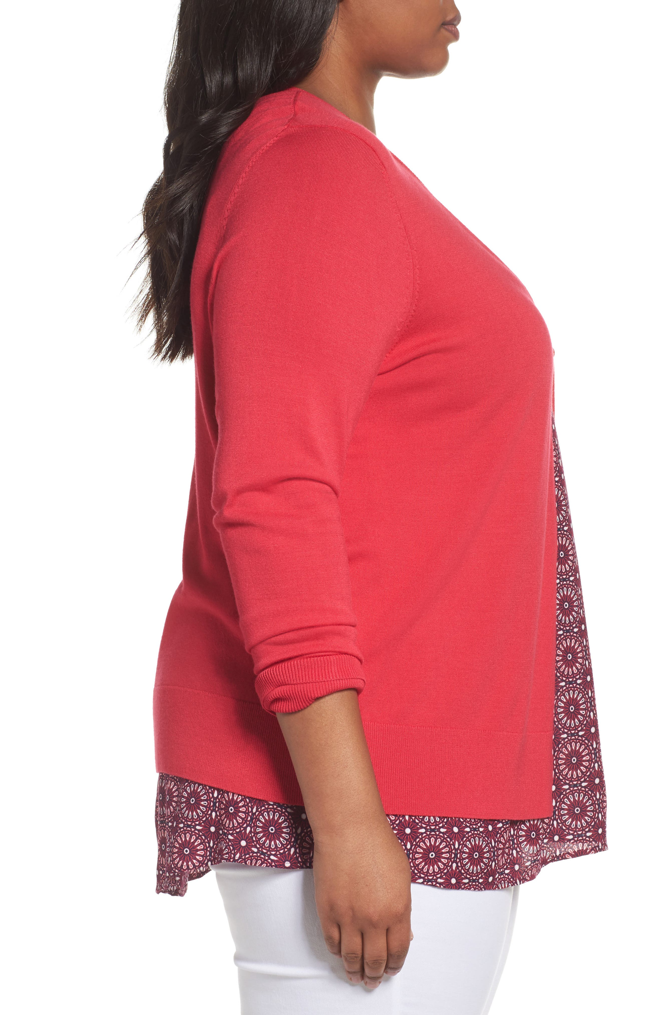 Button Front Cardigan,                             Alternate thumbnail 52, color,