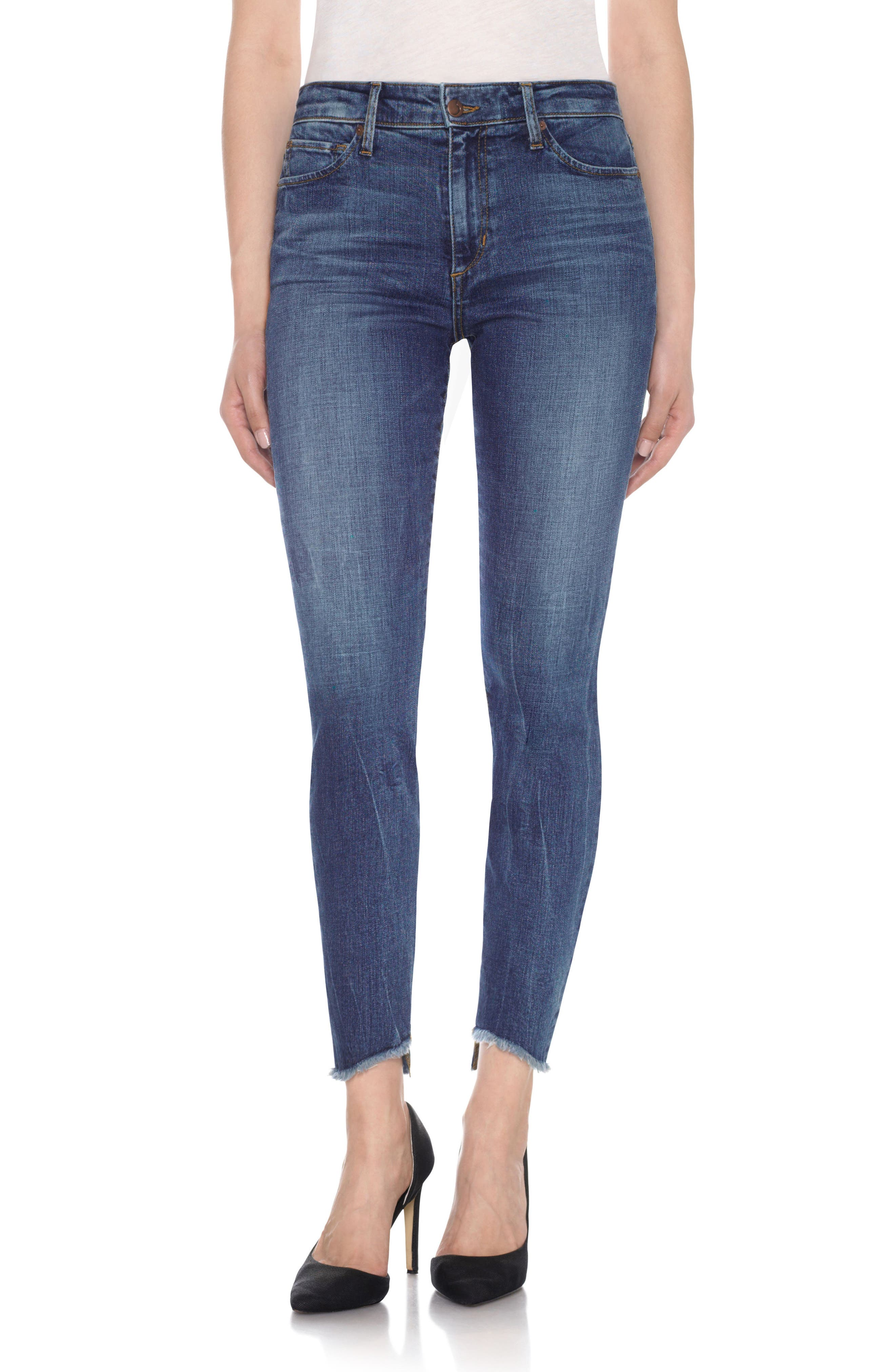 Charlie - Blondie High Rise Ankle Skinny Jeans,                             Main thumbnail 1, color,                             462