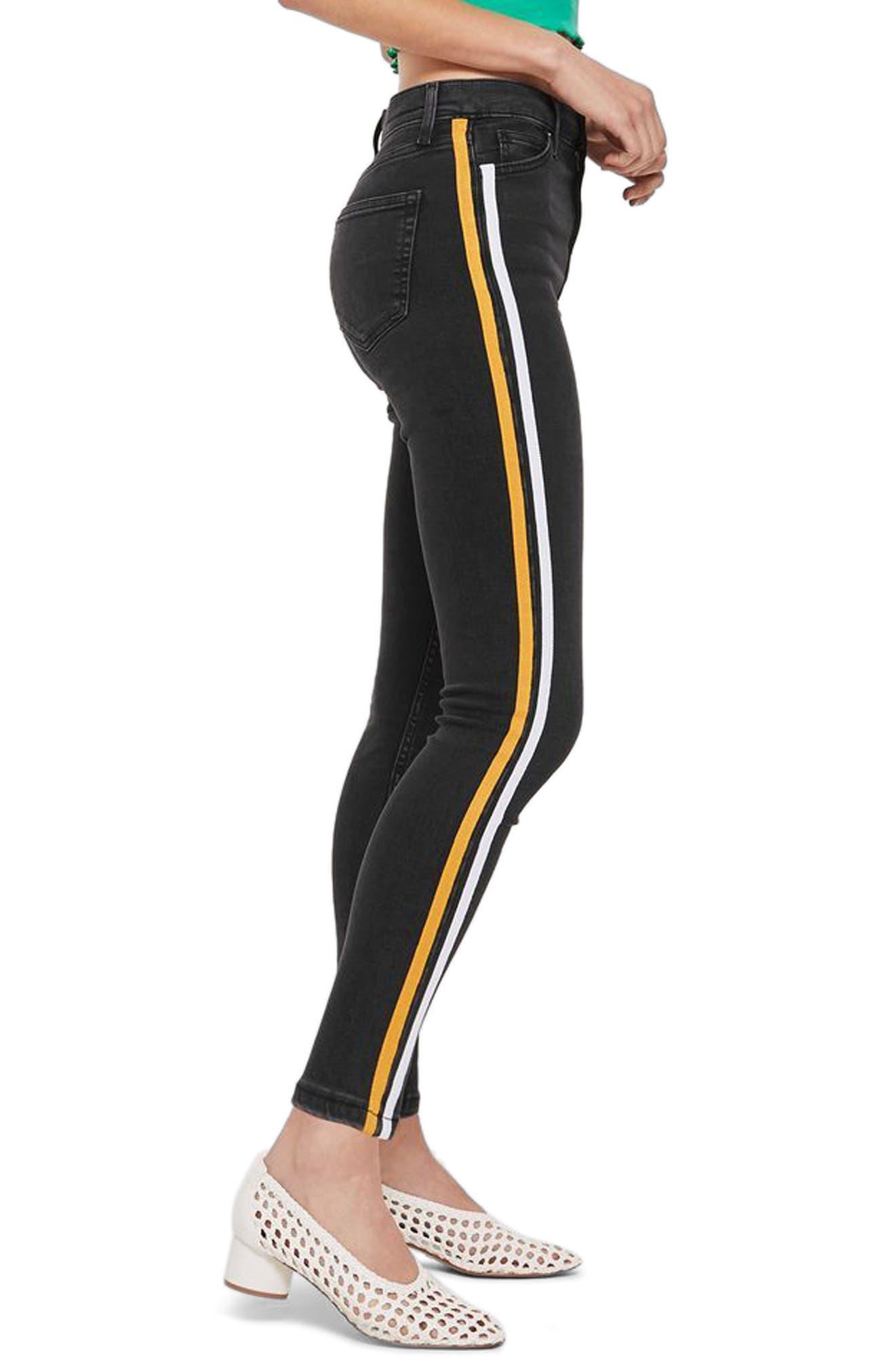 Jamie Side Stripe Jeans,                             Alternate thumbnail 2, color,                             003