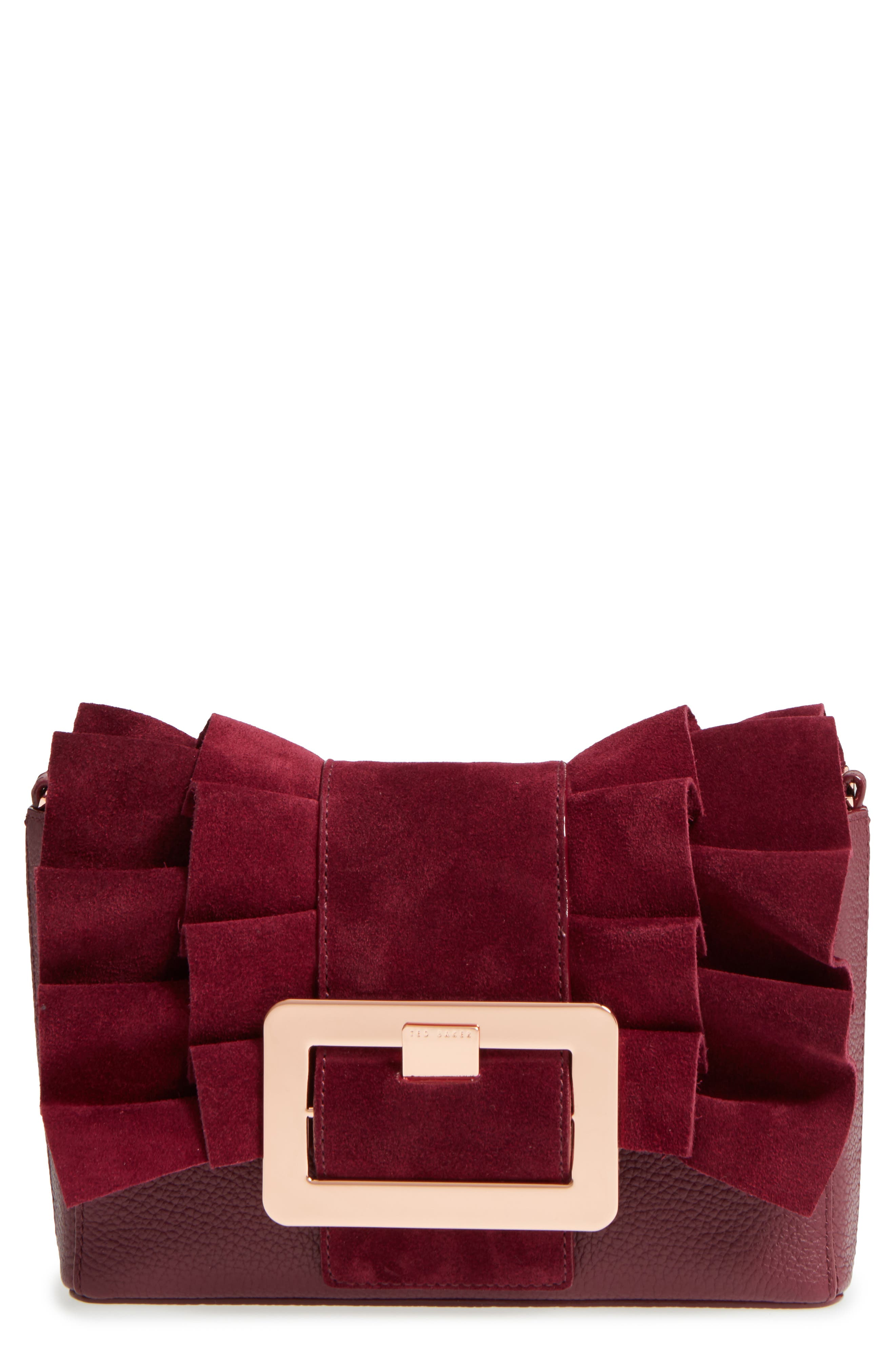 Nerinee Bow Buckle Clutch,                             Main thumbnail 2, color,