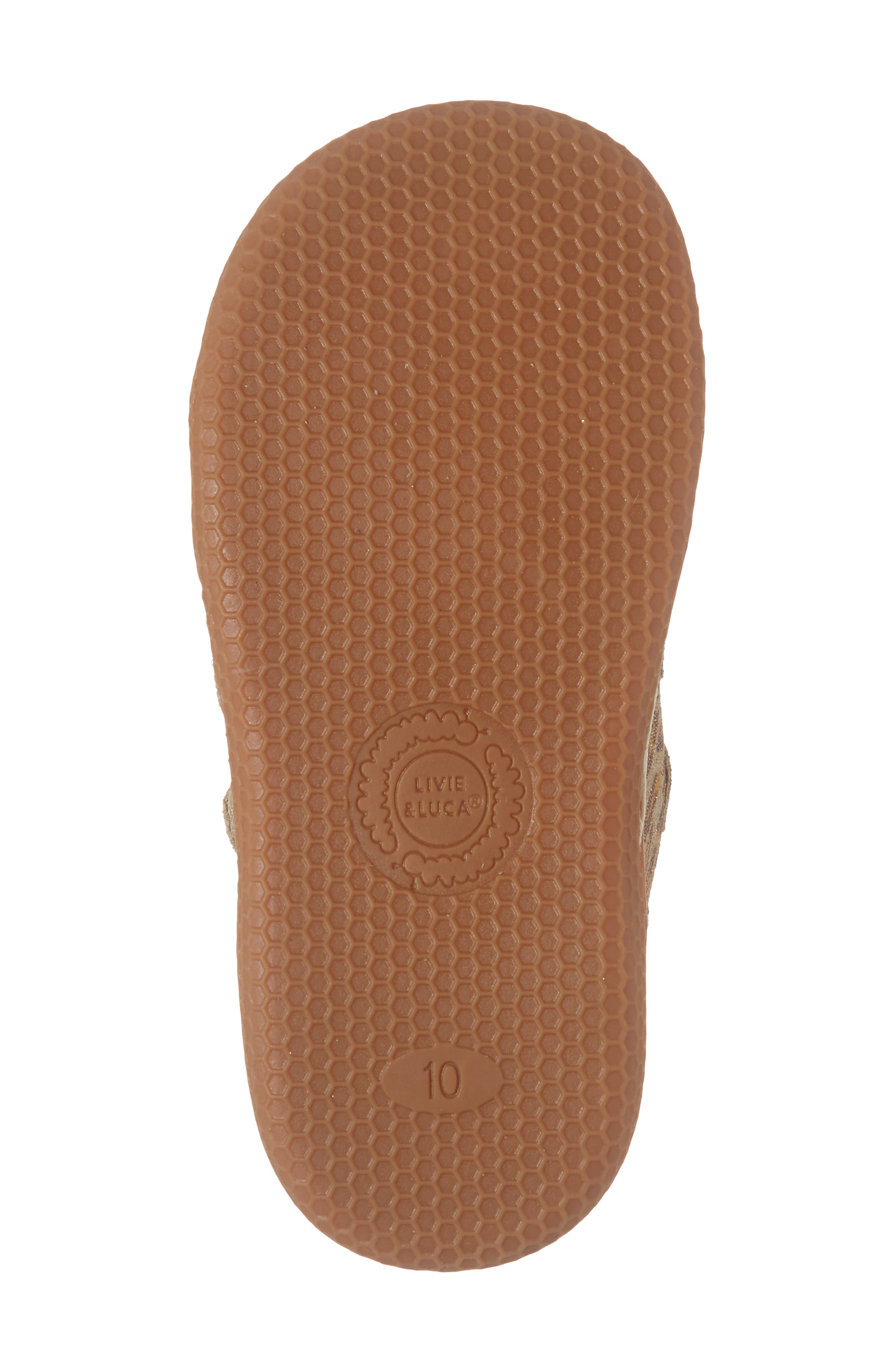 'Jamie' High Top Sneaker,                             Alternate thumbnail 6, color,                             LEOPARD SHIMMER