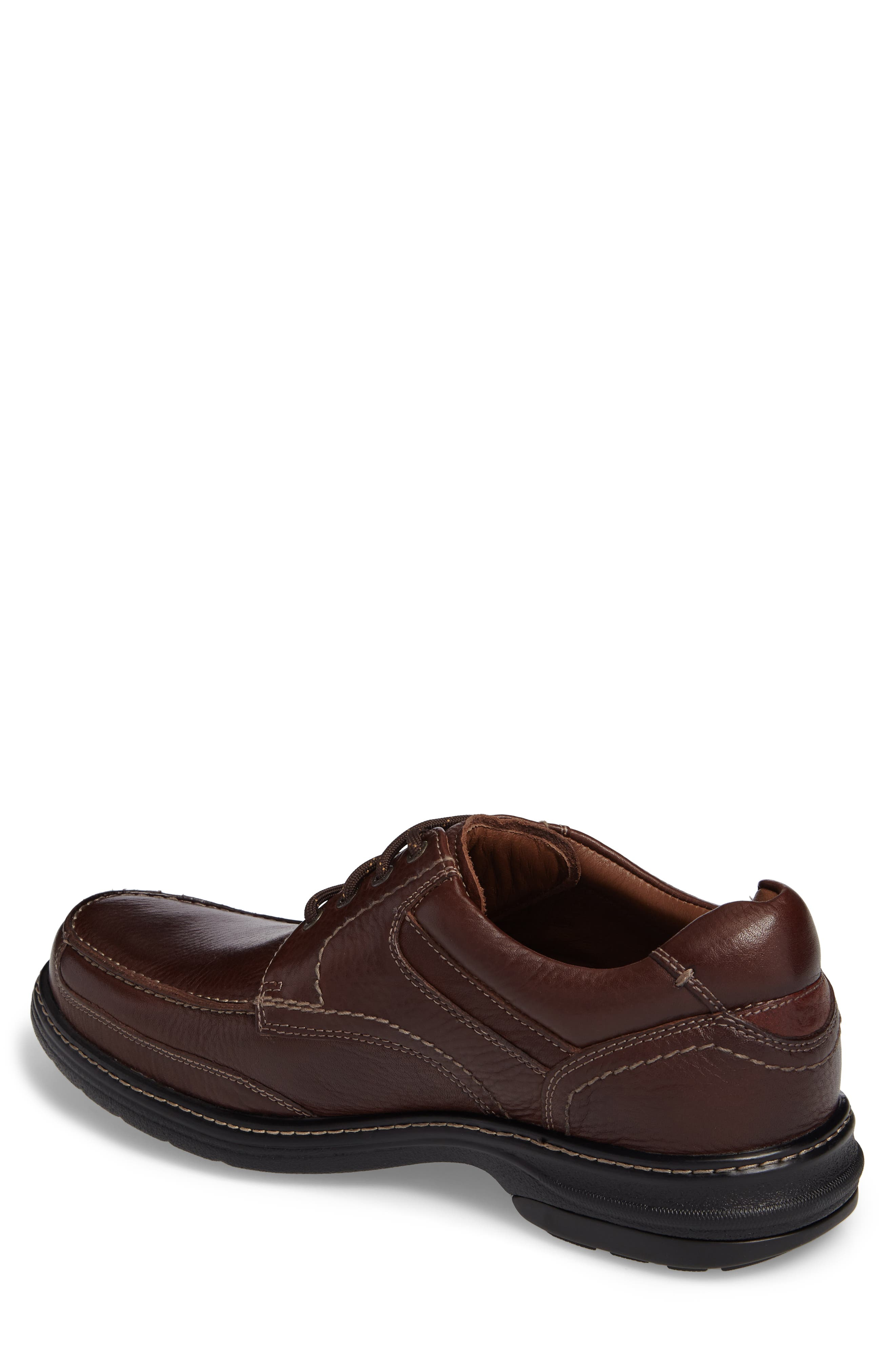 Windham Waterproof Moc Toe Derby,                             Alternate thumbnail 2, color,                             MAHOGANY