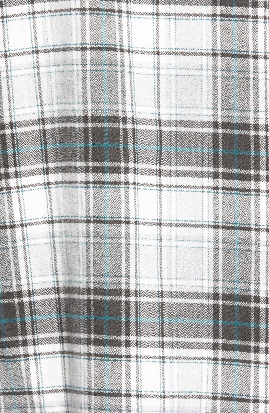 Treasure&Bond Plaid Flannel Tunic,                             Alternate thumbnail 2, color,                             020