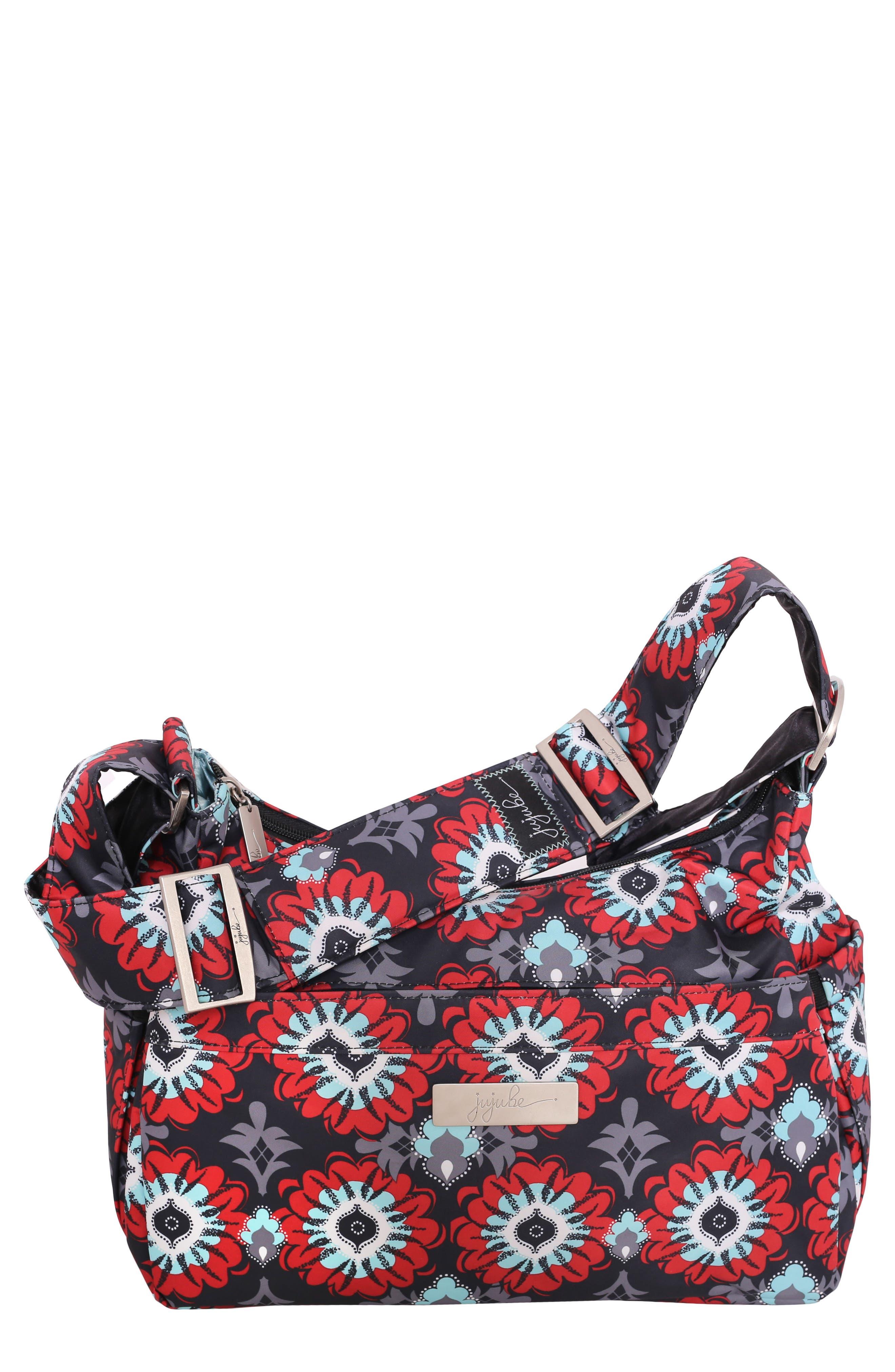 'HoboBe' Diaper Bag,                         Main,                         color, SWEET SCARLET