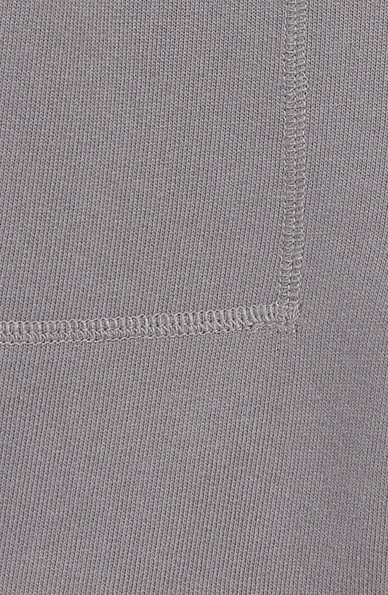 MINI BODEN,                             Garment Dyed Sweat Shorts,                             Alternate thumbnail 2, color,                             PEWTER GREY